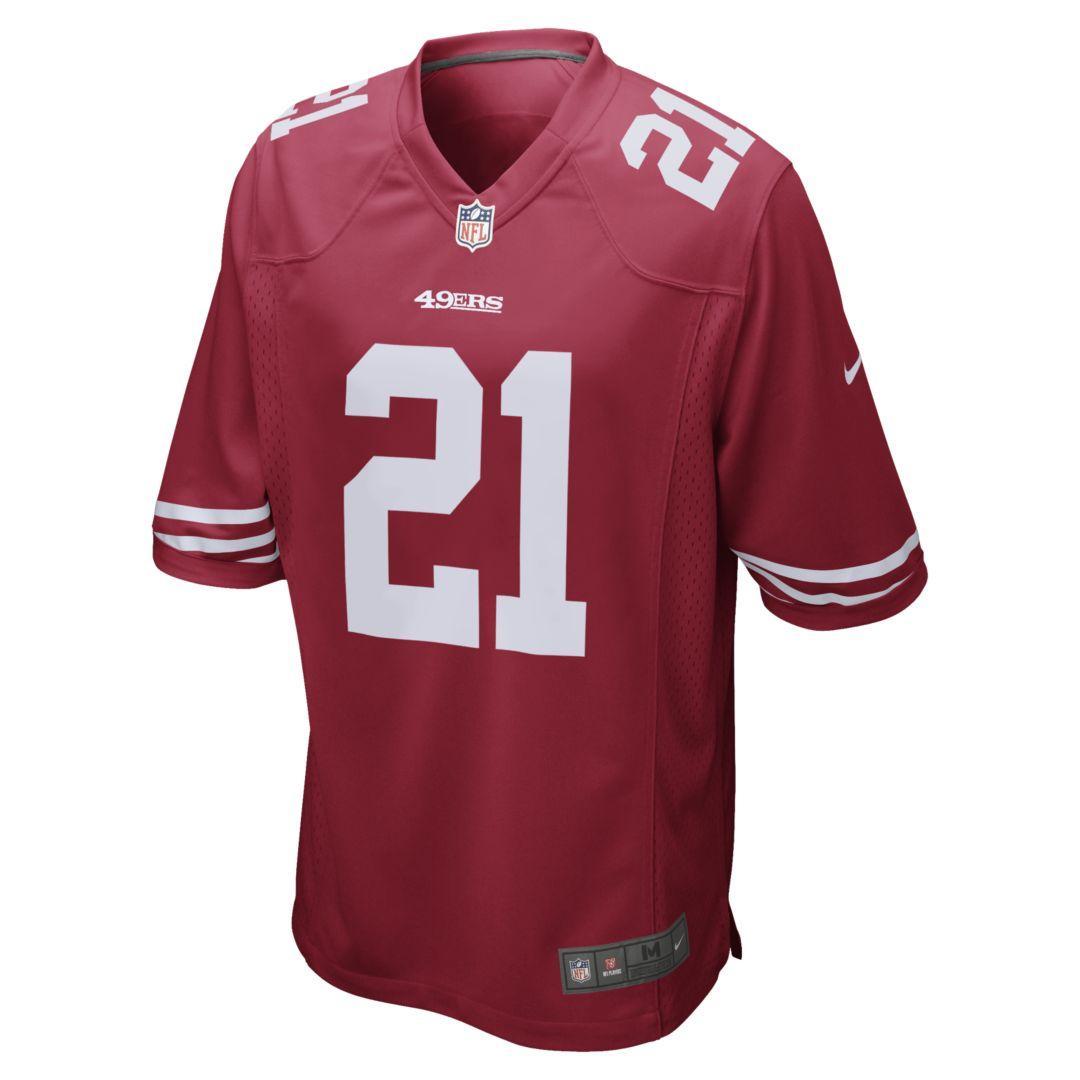 wholesale dealer b0cd7 530da Nike Nfl San Francisco 49ers Game Jersey (deion Sanders ...
