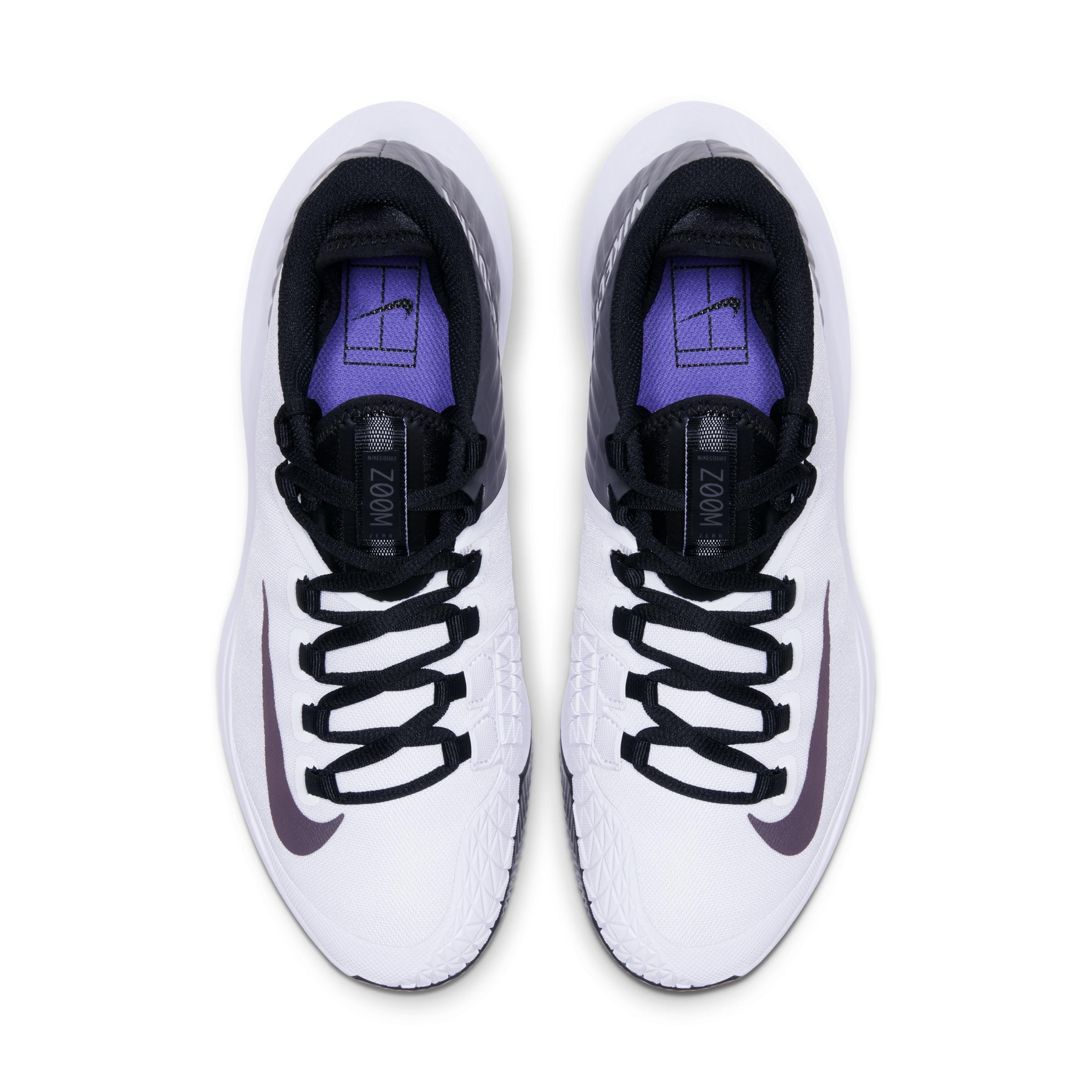 Court Air Zoom Zero Zapatillas de tenis para tierra batida Nike de color Blanco