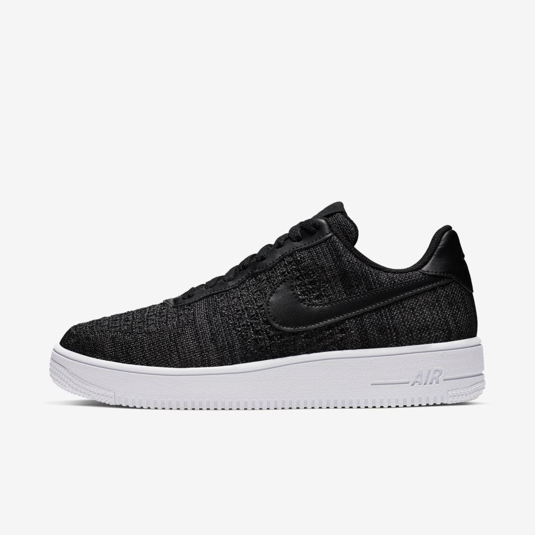 Nike Synthetic Air Force 1 Flyknit 2.0 in Black,White,Anthracite ...