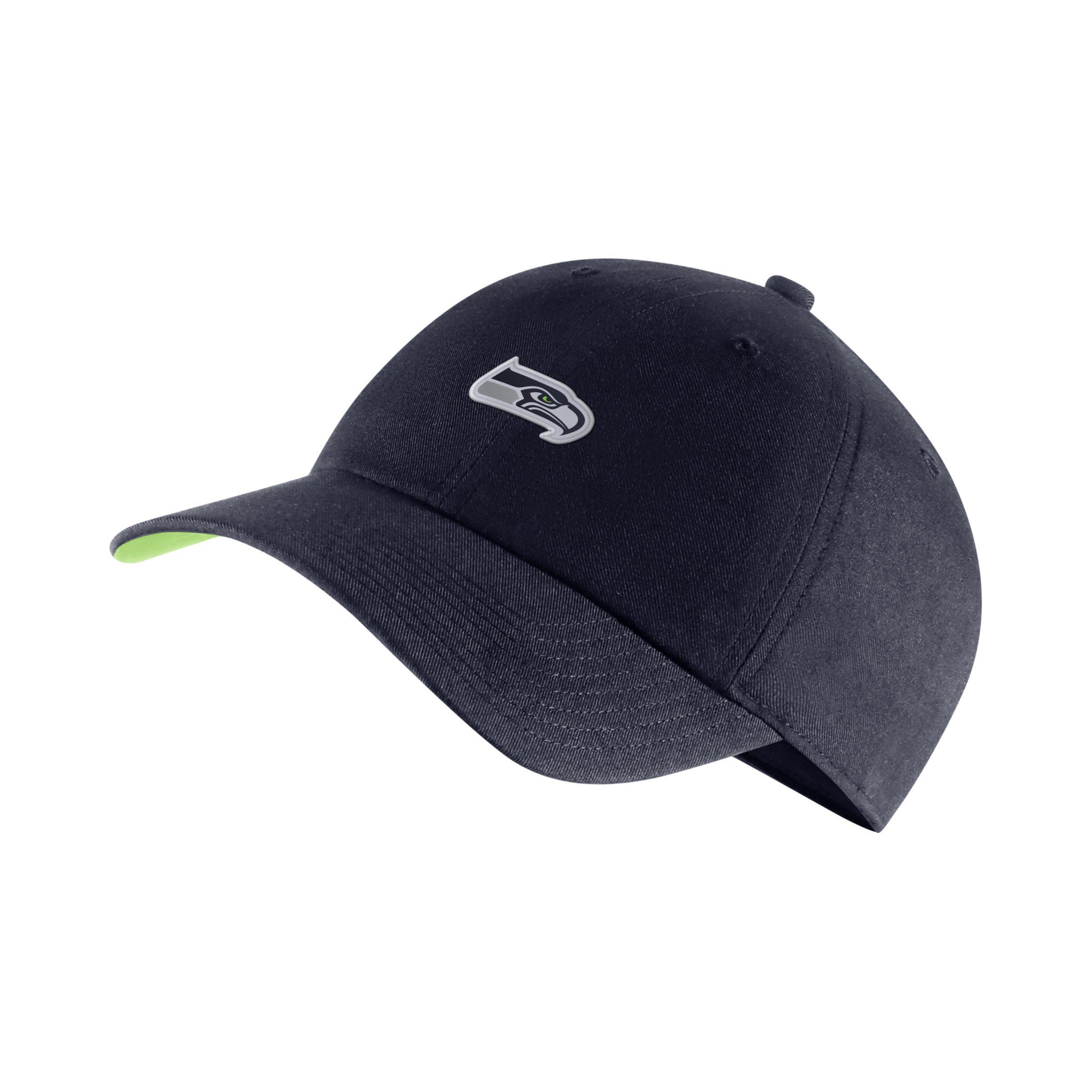 641577c64ee Nike Heritage86 (nfl Seahawks) Adjustable Hat in Blue - Lyst
