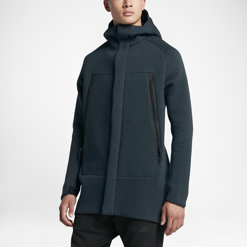 Lyst - Nike Sportswear Tech Fleece Men s Parka in Black for Men ce0b9f3e2ab8