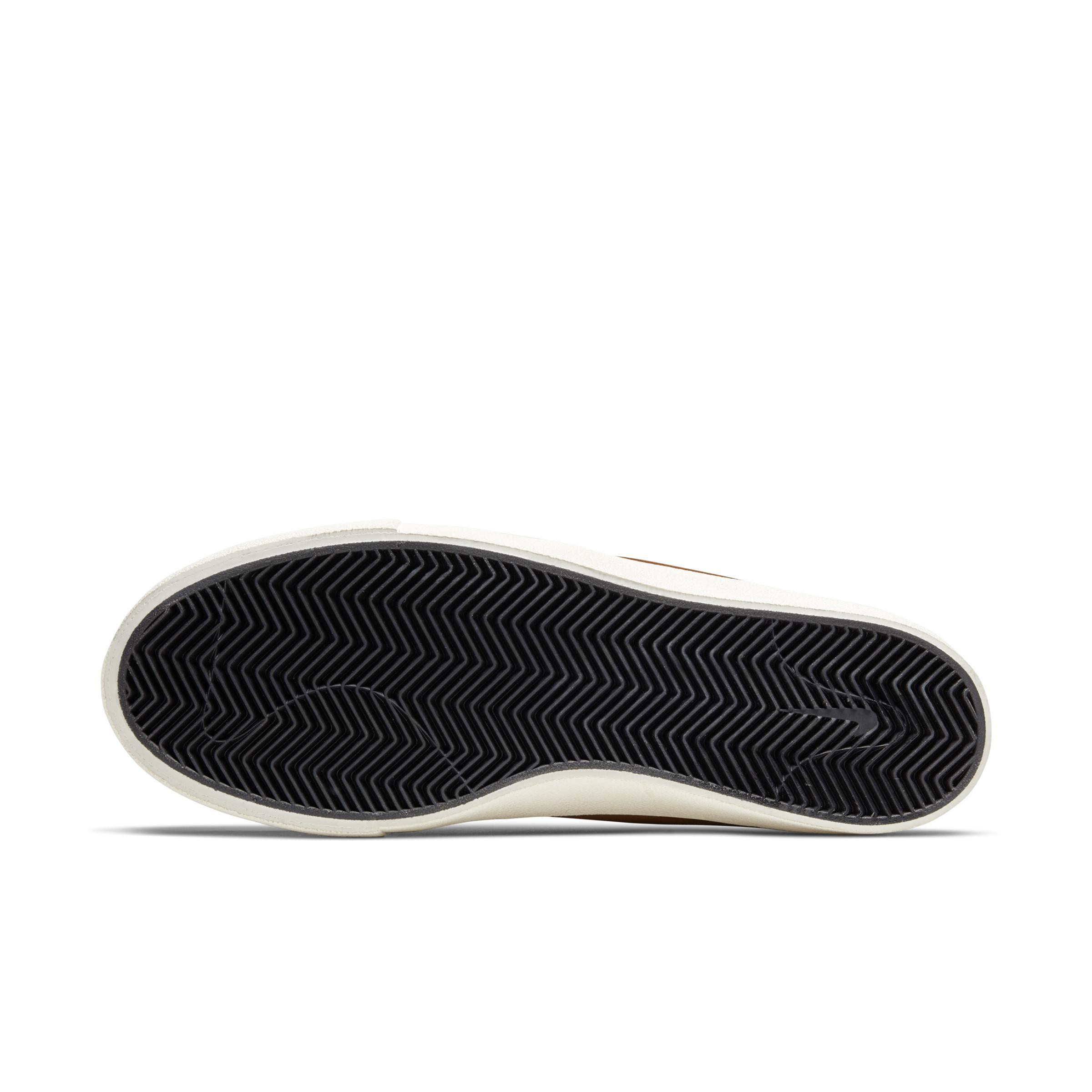 SB Zoom Stefan Janoski Mid Crafted Zapatillas de skateboard Nike de Cuero de color Marrón para hombre