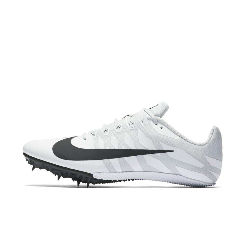 Nike. Men's White Zoom Rival S 9 Track Spike