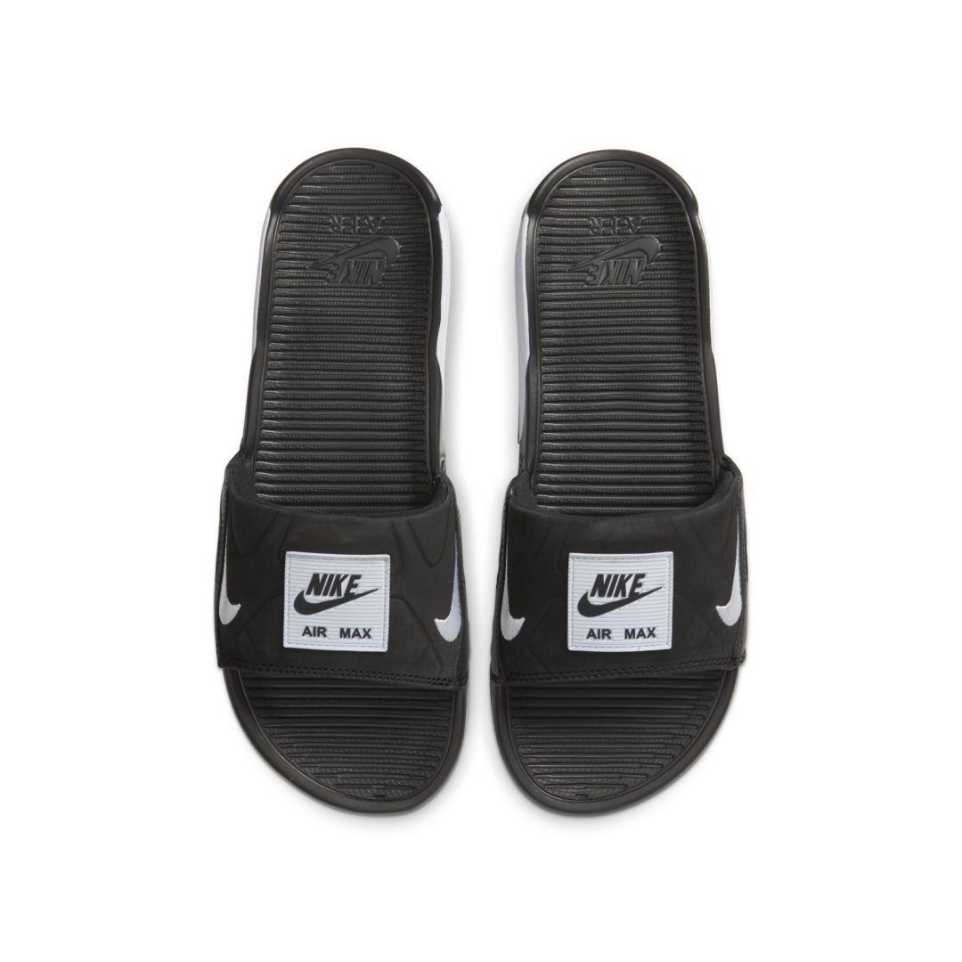 Nike Air Max 90 Slide in Black - Lyst
