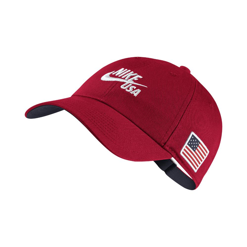 e294a2830ce Lyst - Nike Heritage 86 Americana Adjustable Hat (red) in Red for Men