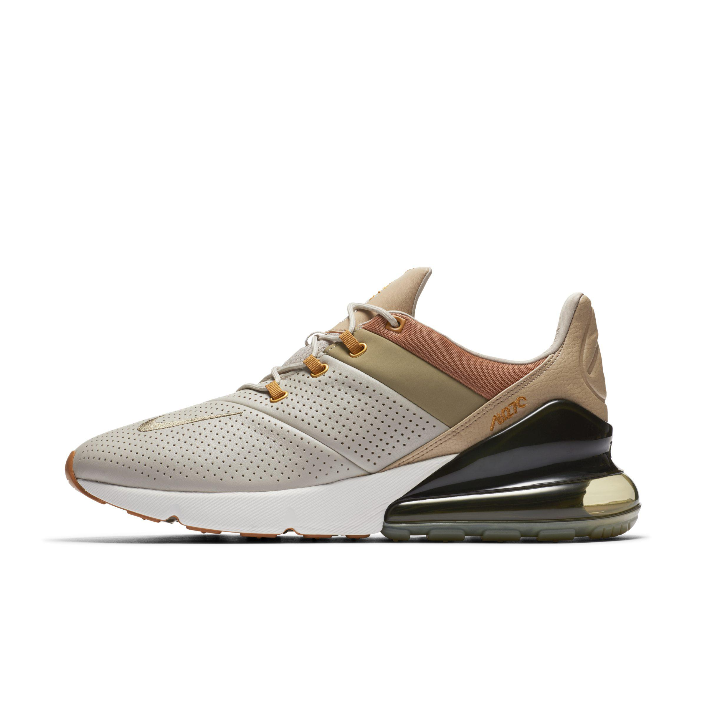 Nike Air Max 270 Premium Shoe in Brown for Men - Lyst a16d97a79