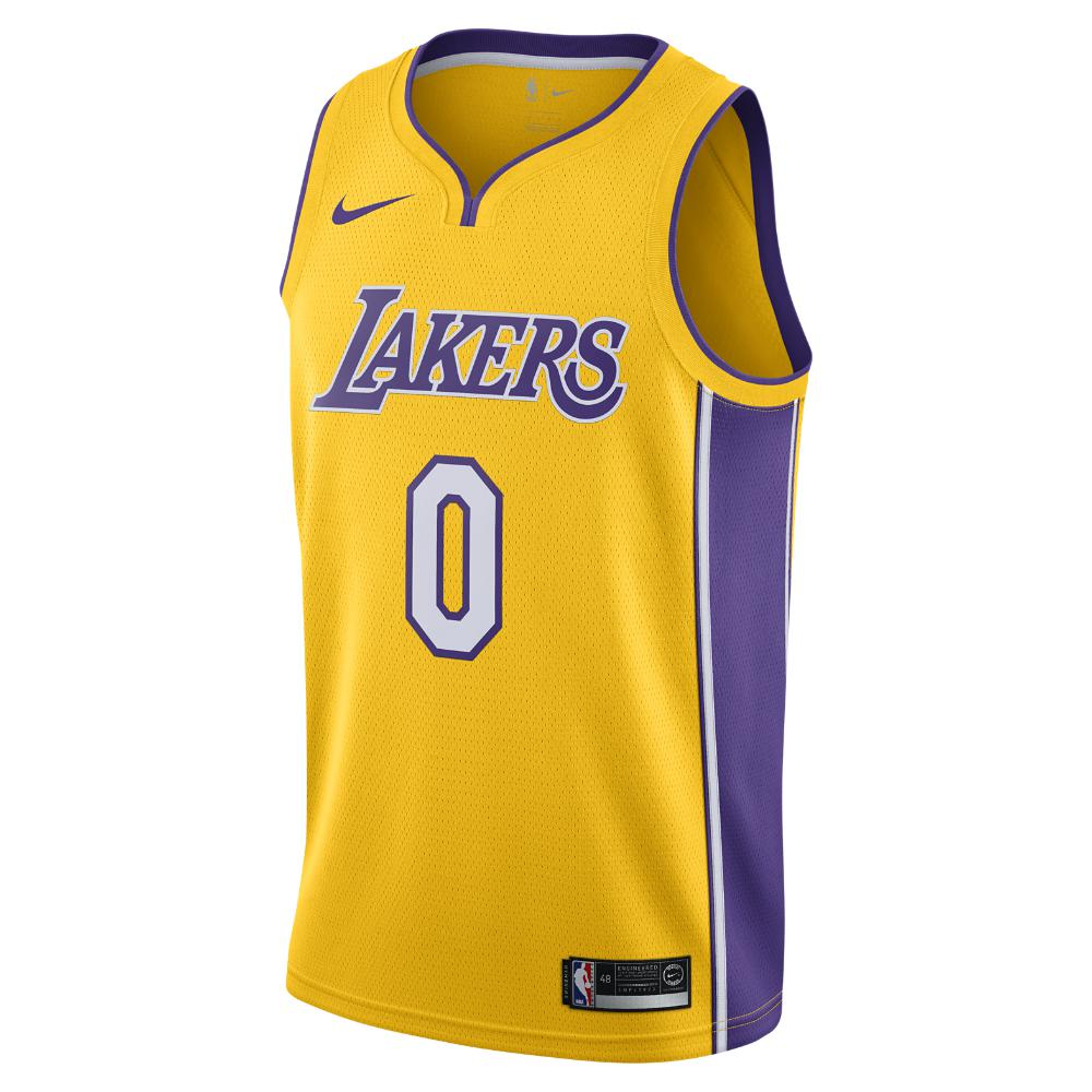 Lyst - Nike Kyle Kuzma Icon Edition Swingman Jersey (los Angeles ... eac2a70ca