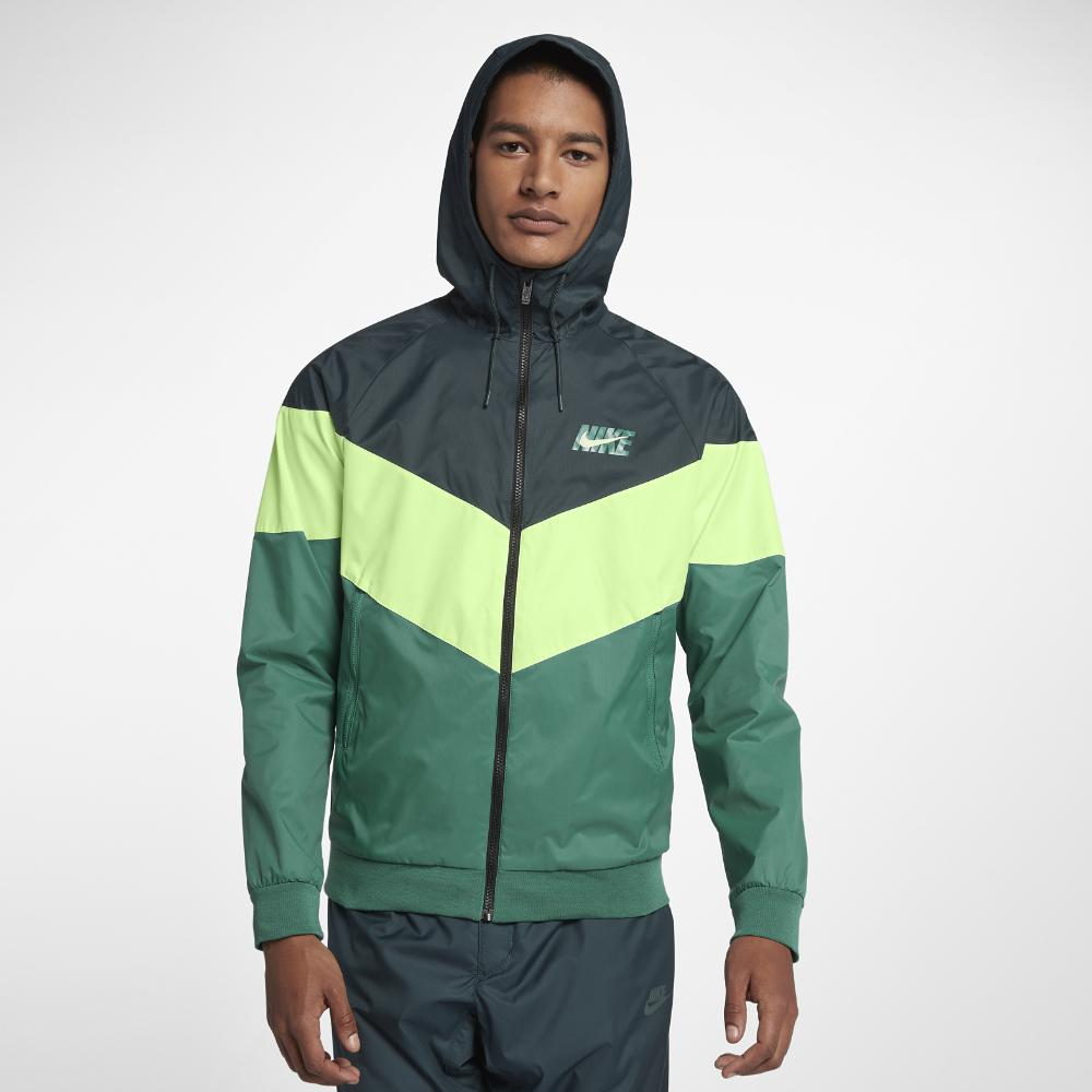 2e18fec0f0 Lyst - Nike Sportswear Windrunner Men s Jacket in Green for Men