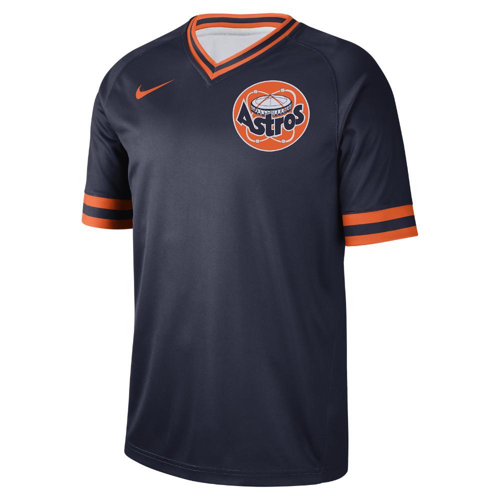 c97dfdf6ab30b Lyst - Nike Legend V-neck (mlb Astros) Men s T-shirt in Blue for Men