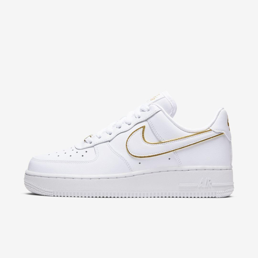 Nike Leather Air Force 1 '07 Essential Shoes in White - Lyst