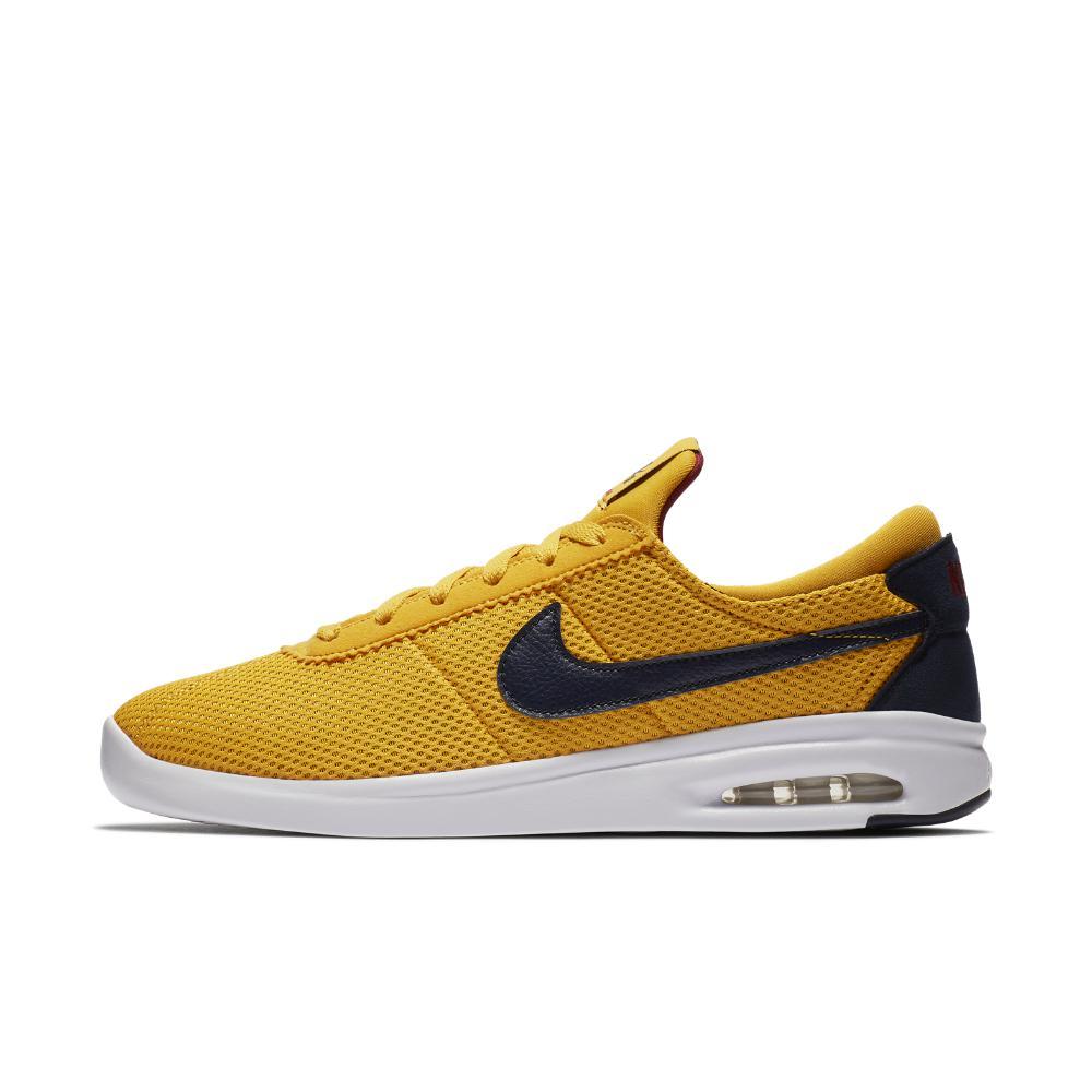 Nike Sb Air Max Bruin Vpr Txt Low-top Sneakers in Yellow for Men ...
