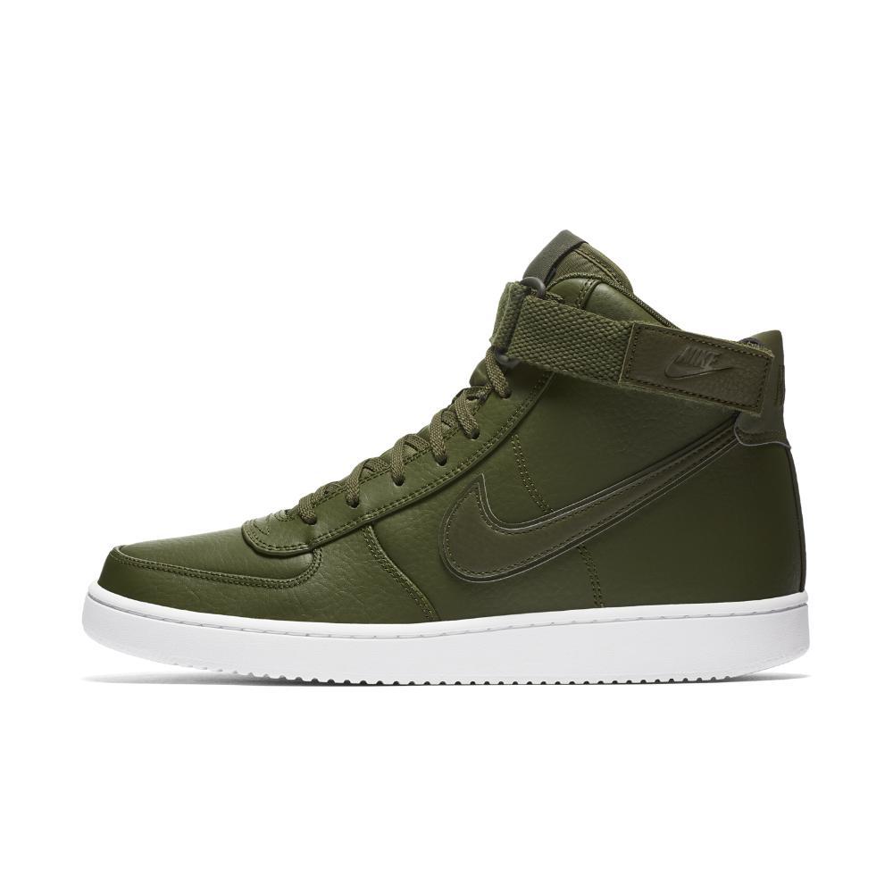 promo code e9a7d 85703 Nike. Green Vandal High Supreme Leather Mens Shoe