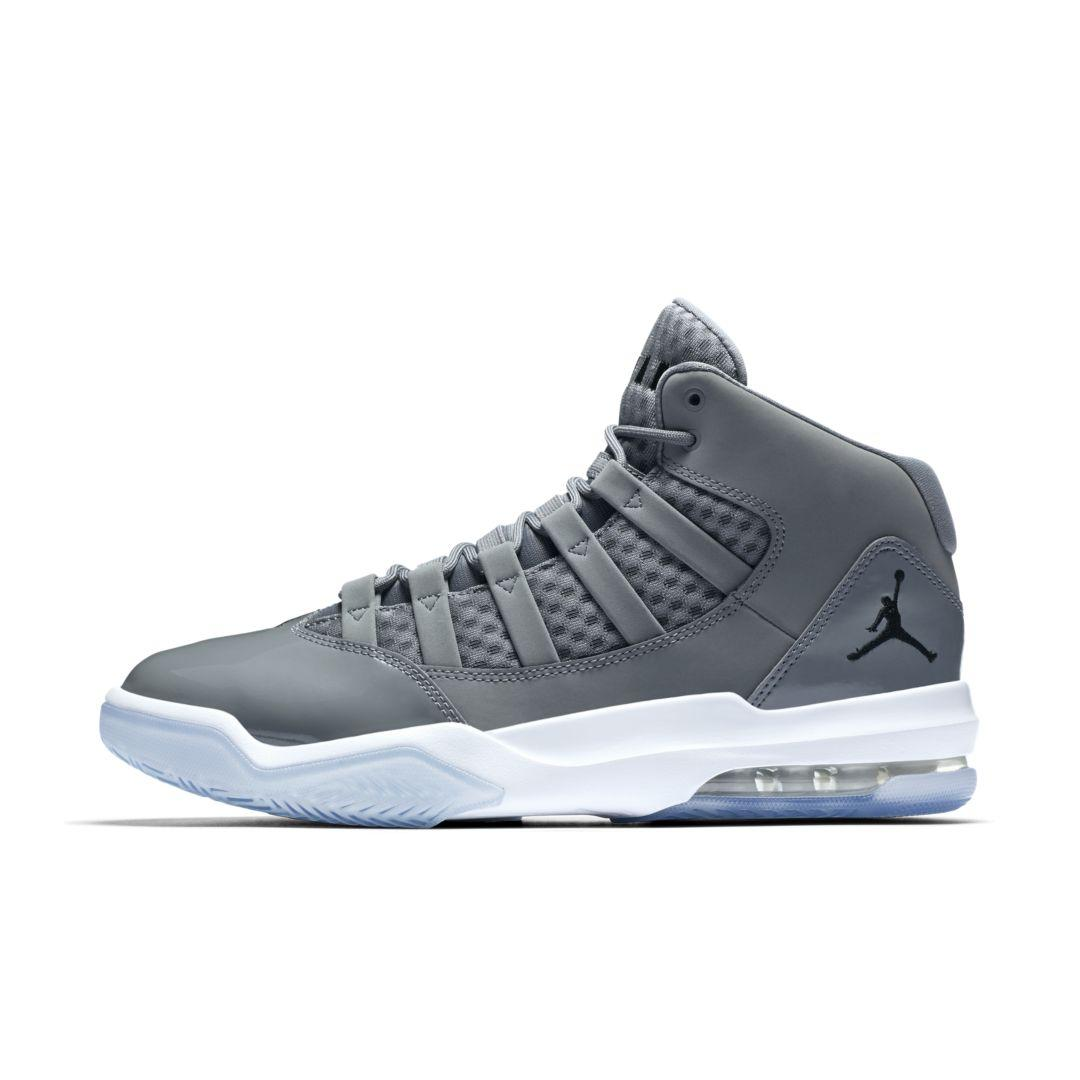 Nike Jordan Max Aura Basketball Shoe in Cool Grey (Gray) for Men ...