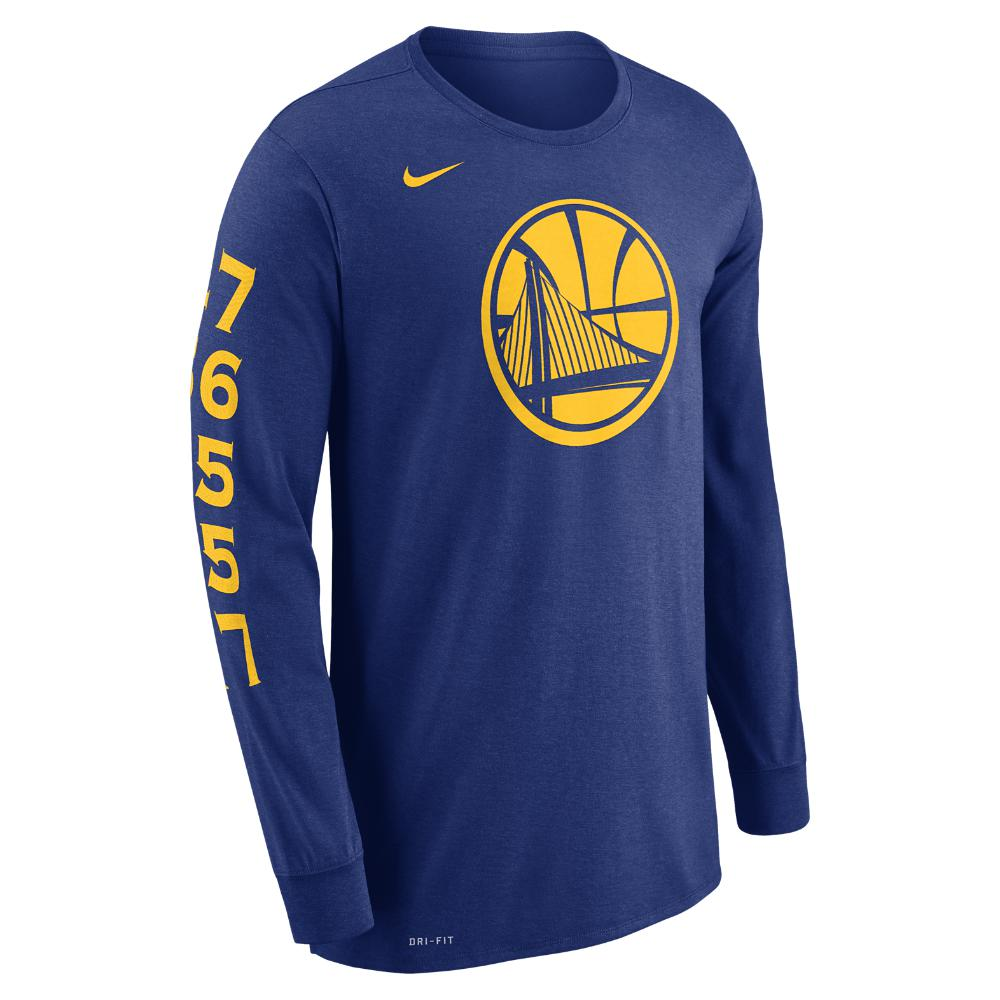 7d0aec9ccc8 Lyst - Nike Golden State Warriors Dry Men s Long-sleeve Nba T-shirt ...