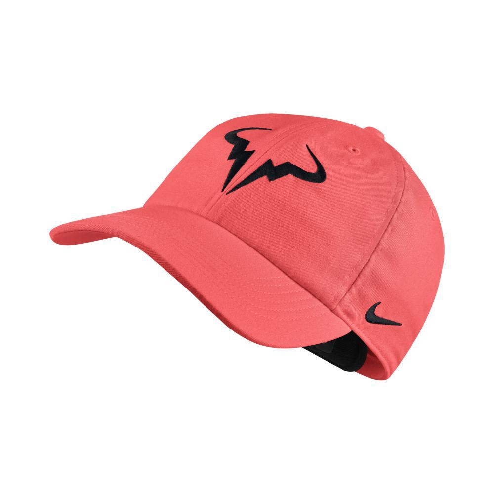 ed1265370d2 ... size 40 72eb1 8b84c Lyst - Nike Court Aerobill H86 Rafael Nadal  Adjustable Tenni  online store e12b8 71d17 NIKE Feather Light Womens Tennis  Cap ...