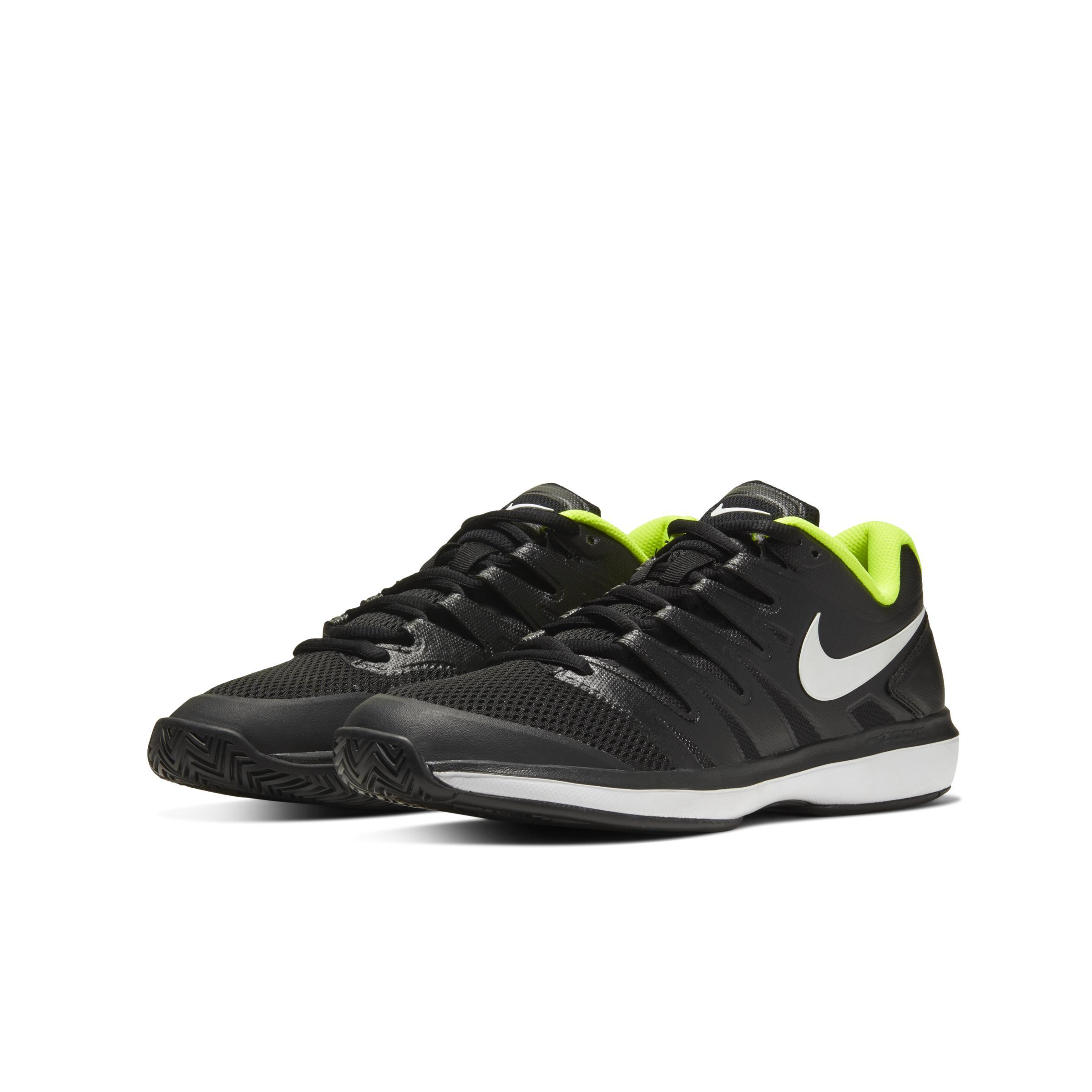 Court Air Zoom Prestige Zapatillas de tenis para tierra batida Nike de Caucho de color Negro para hombre: ahorra un 55 %