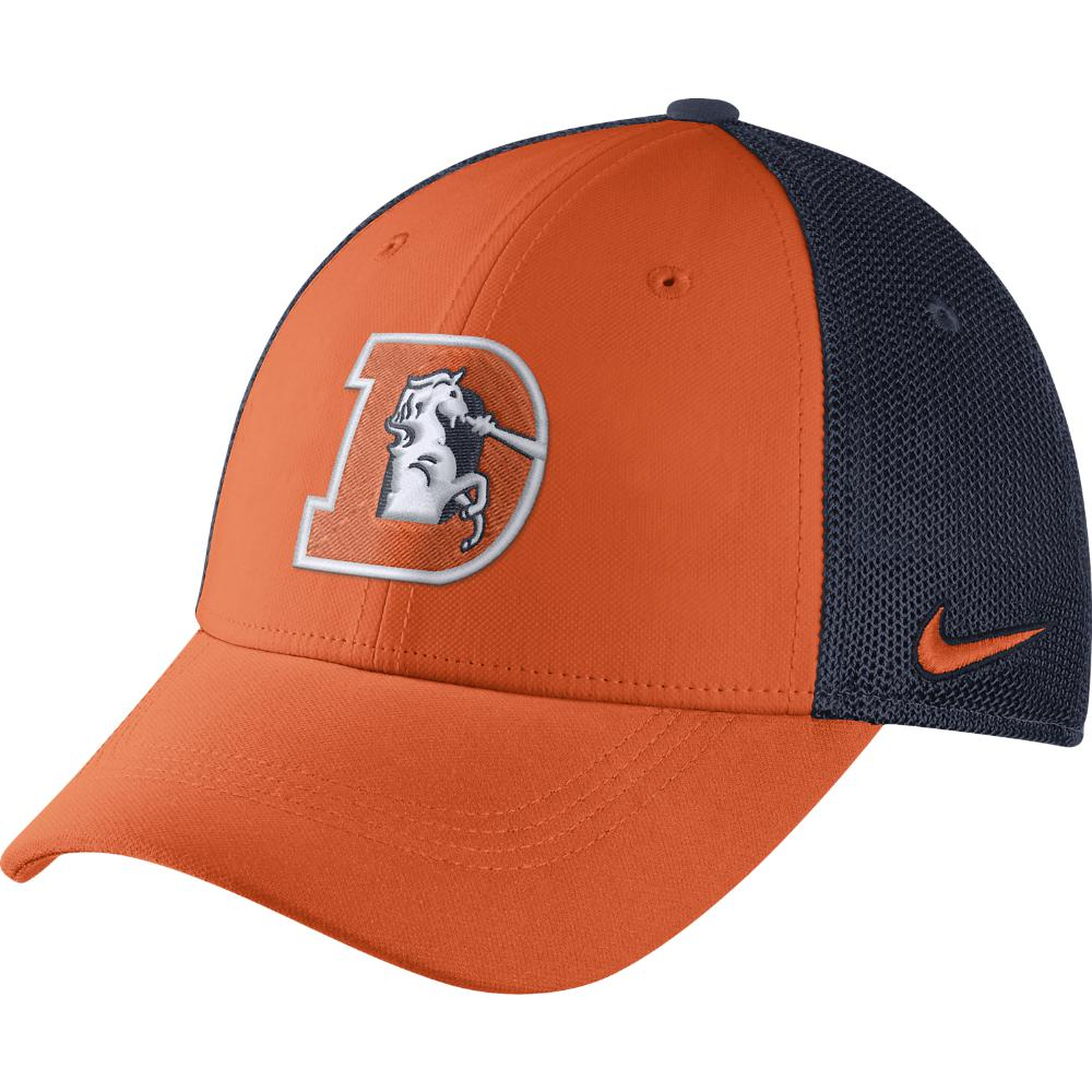 e1171c56b Lyst - Nike Color Rush Swoosh Flex (nfl Broncos) Fitted Hat in ...