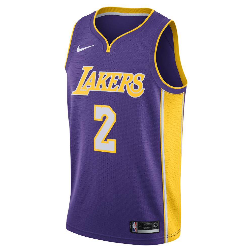 add24377e9c Nike Lonzo Ball Icon Edition Swingman Jersey (los Angeles Lakers ...