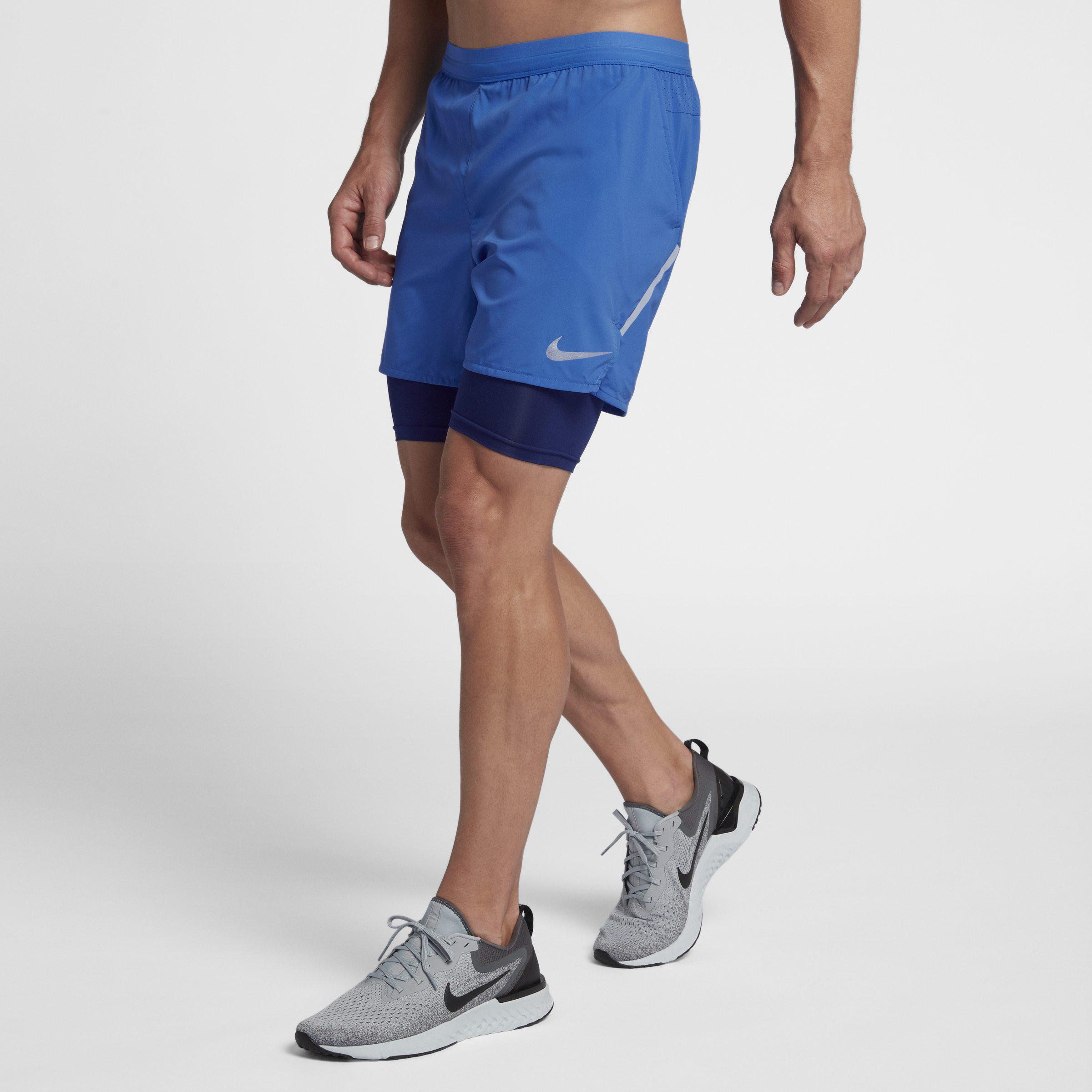 79202bb0 Nike Blue Flex Stride 2-in-1 5
