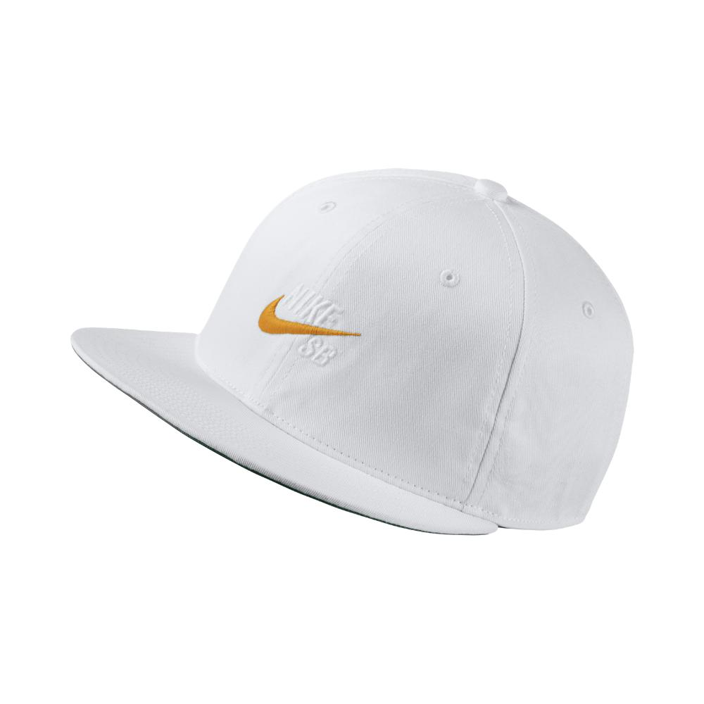 d551c19fbc9 Lyst - Nike Sb Vintage Adjustable Hat (white) - Clearance Sale in ...