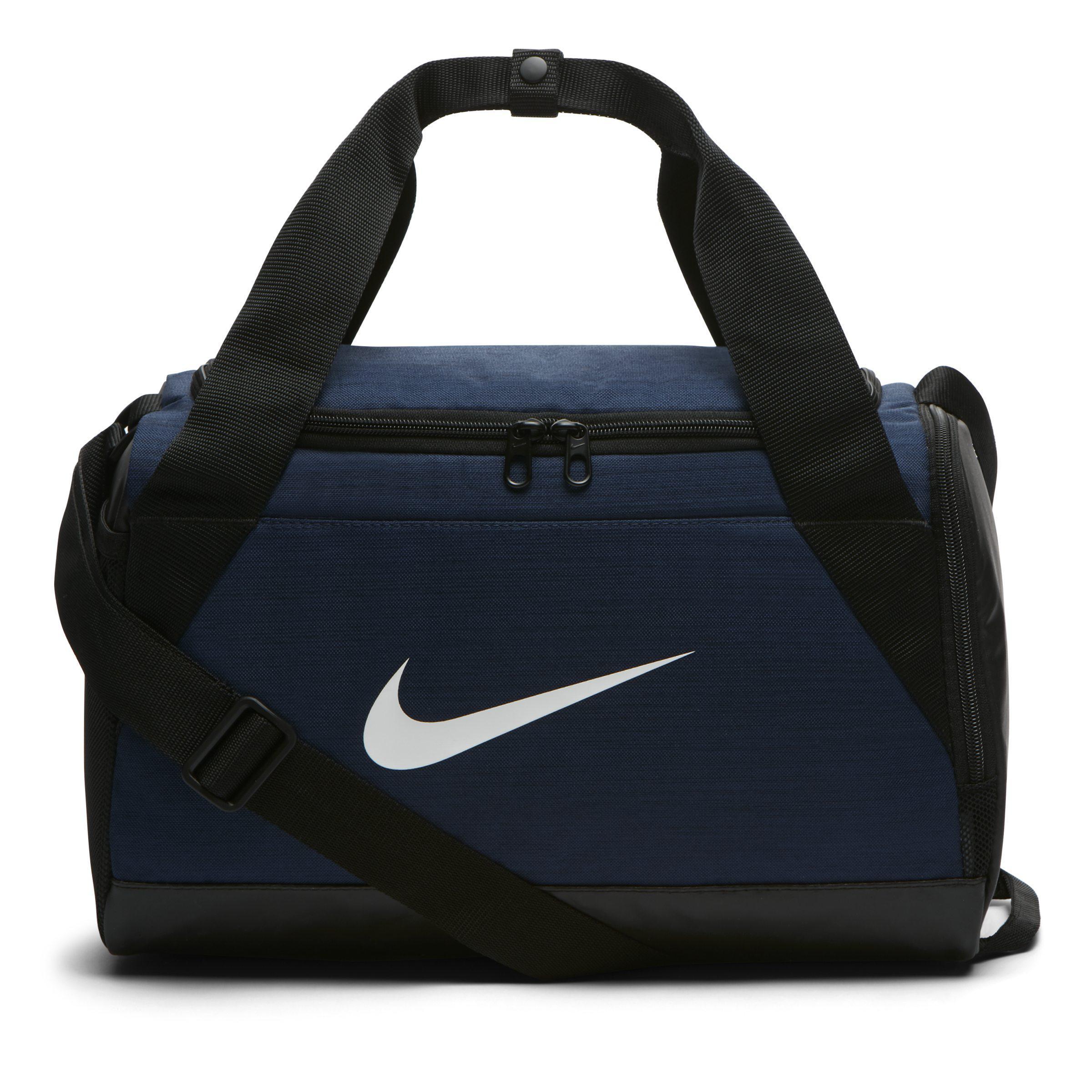 2c071e32b0e0 Nike Brasilia (extra Small) Training Duffel Bag in Blue - Lyst