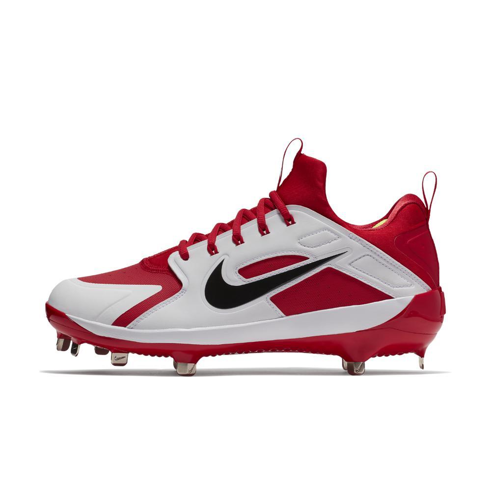 5cd44529998 Lyst - Nike Alpha Huarache Elite Low Men s Baseball Cleats in Red ...