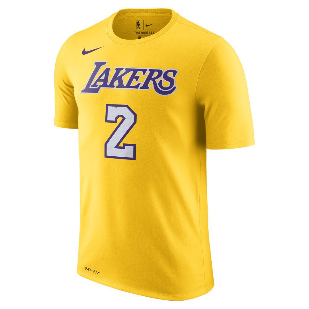 Lyst - Nike Lonzo Ball Los Angeles Lakers Dri-fit Men s Nba T-shirt ... 73979d6d6