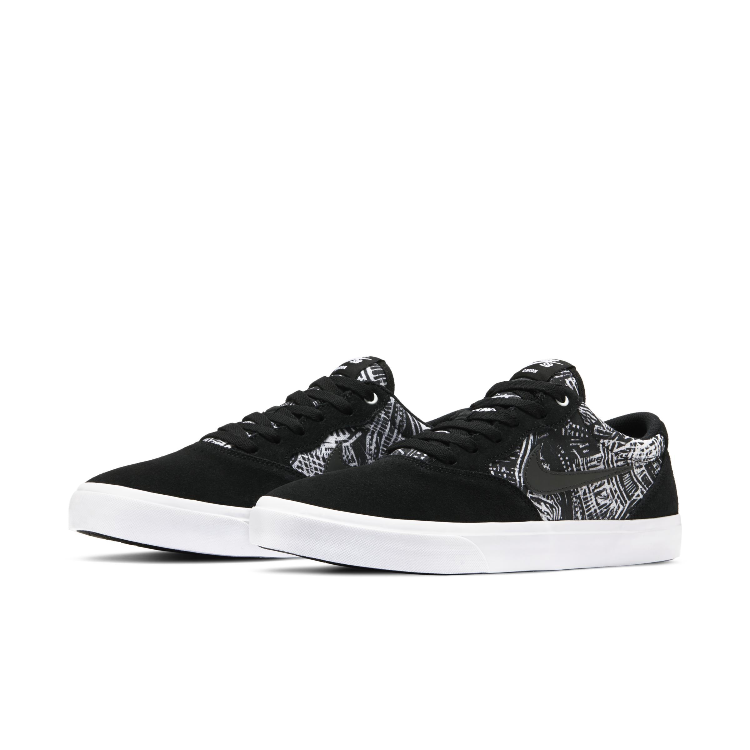 SB Chron Solarsoft Premium Zapatillas de skateboard Nike de color Negro