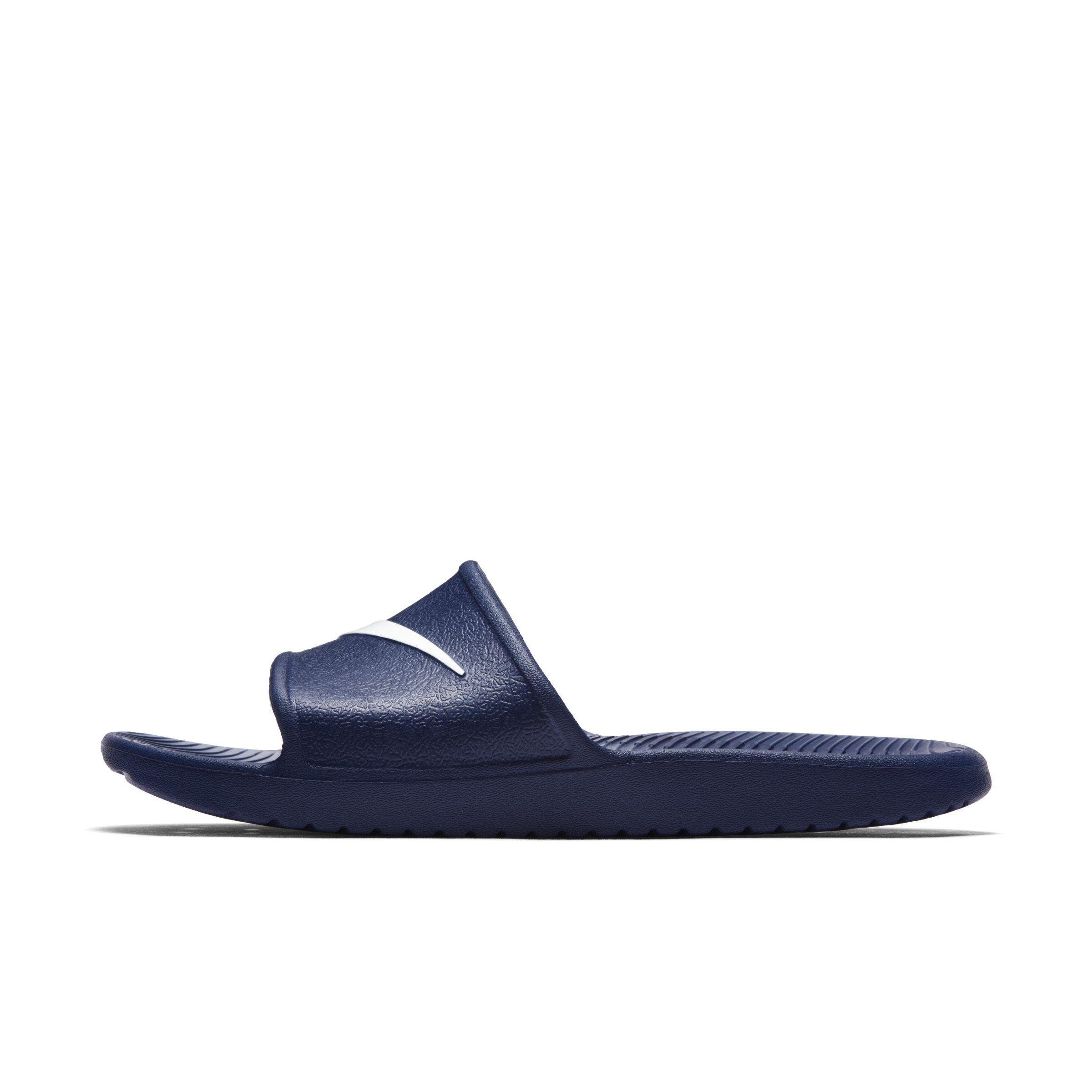 new arrival 3f172 cf37f Nike - Blue Kawa Shower Slide for Men - Lyst. View fullscreen