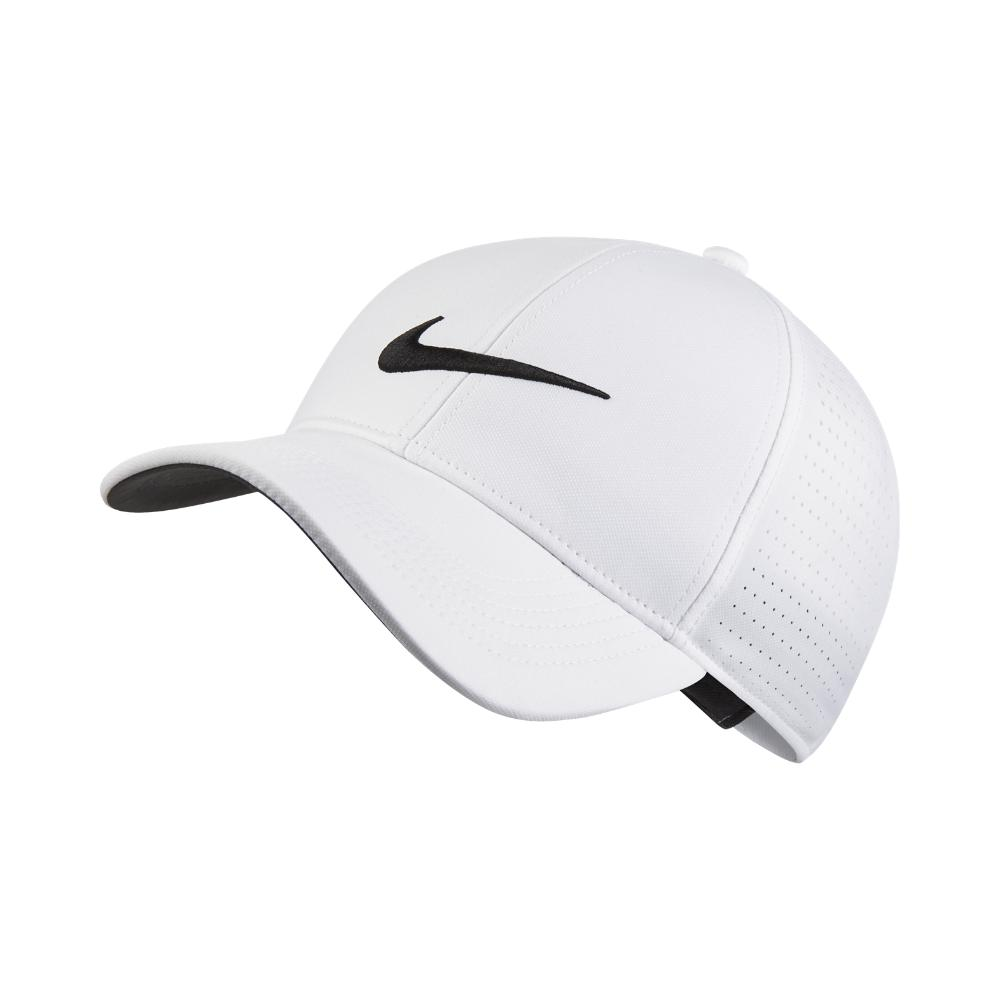 df3fbca686488 Lyst - Nike Legacy 91 Perforated Adjustable Golf Hat (white) in ...