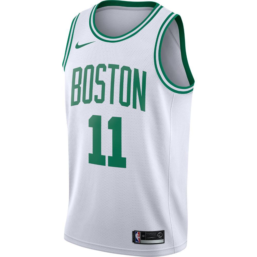Nike. White Kyrie Irving Association Edition Swingman Jersey (boston Celtics)  Men s Nba Connected Jersey 25443ef70