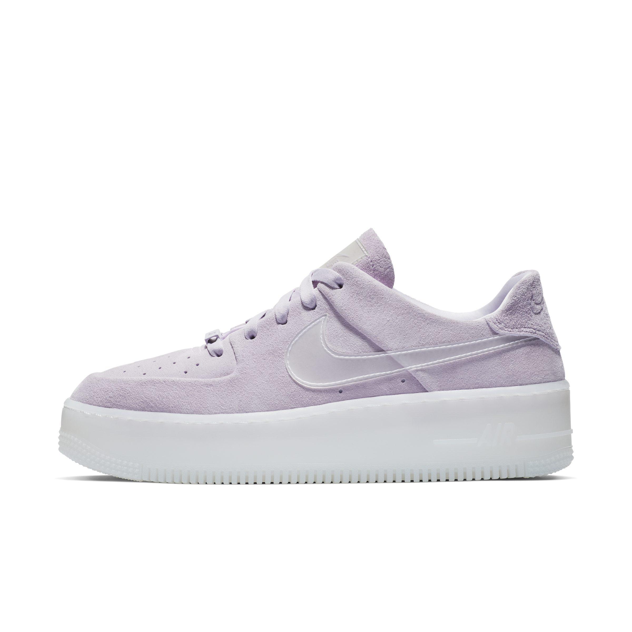 nike air force 1 donna lilla