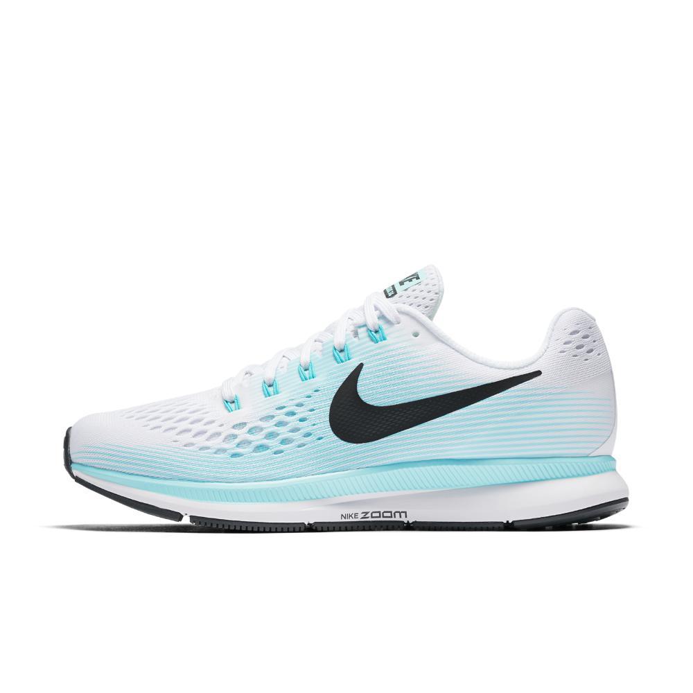 1f19339e31fd Lyst - Nike Air Zoom Pegasus 34 Women s Running Shoe in White
