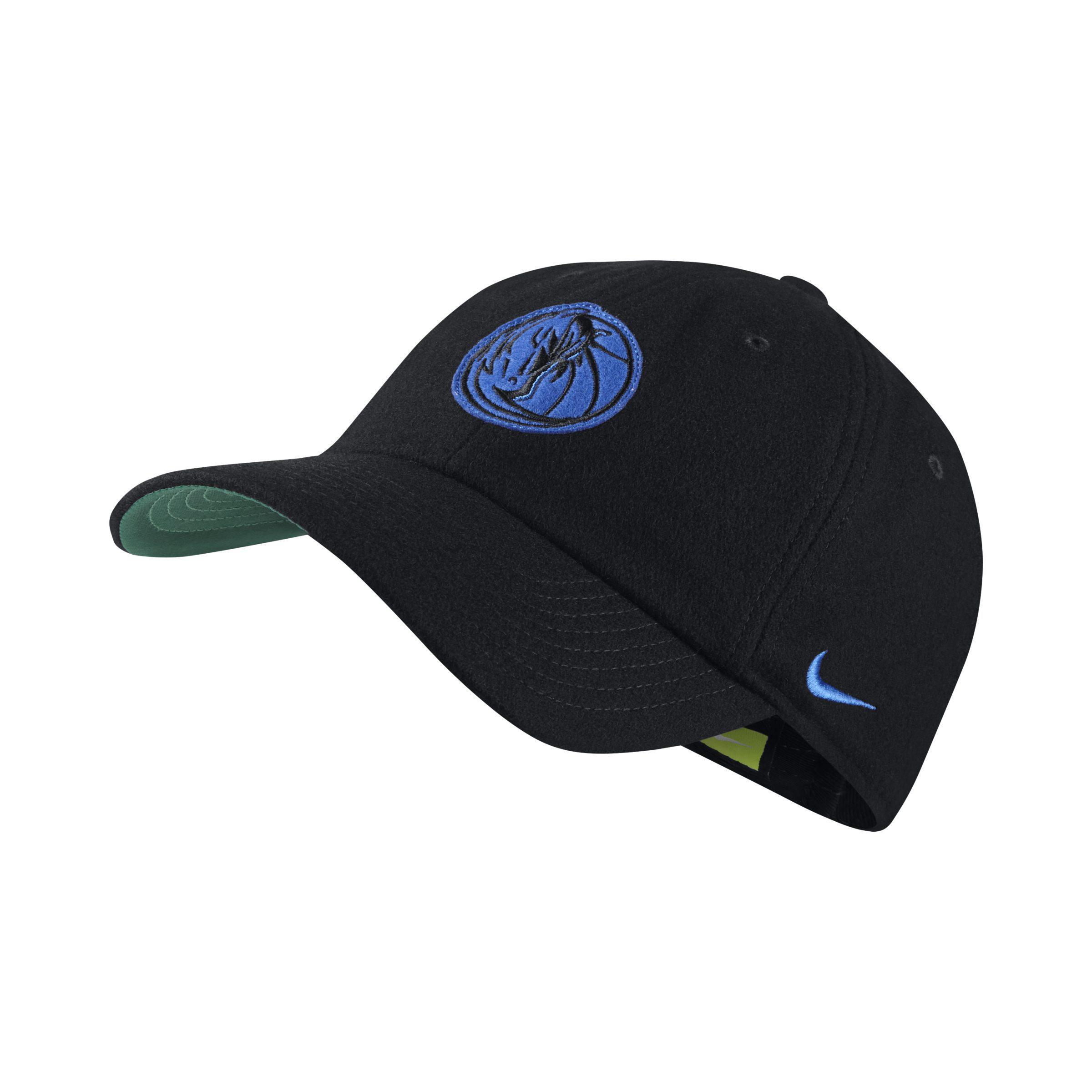 low priced cb492 e7c1f ... order nike black dallas mavericks heritage86 unisex nba hat lyst. view  fullscreen 93114 54a18