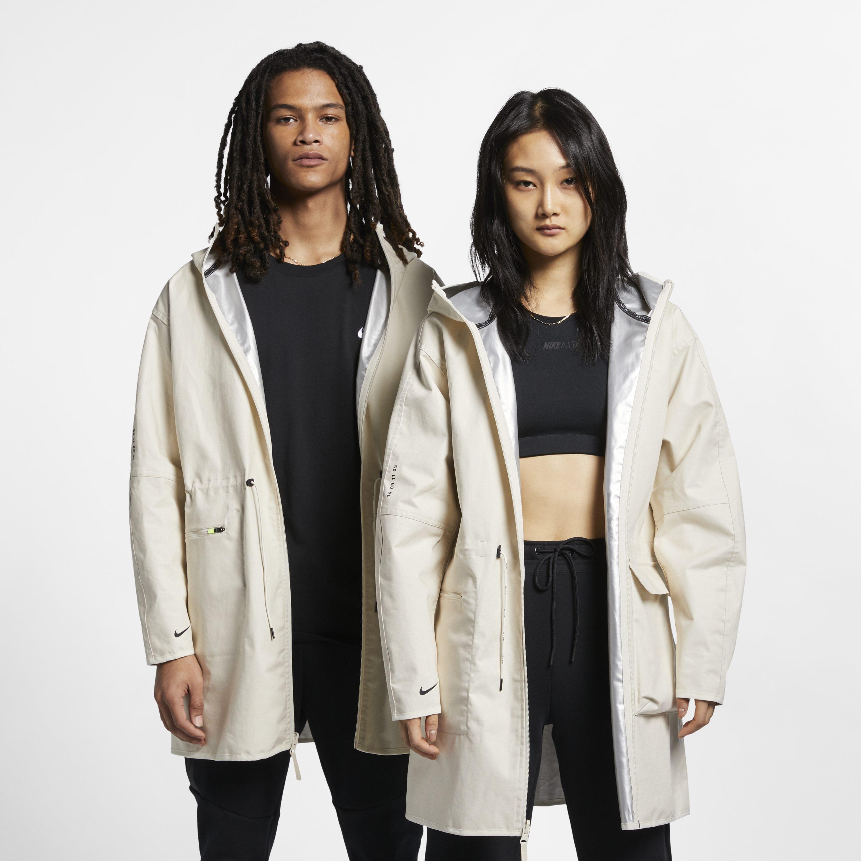 5fbc8792ba65 Nike Sportswear Tech Pack Woven Jacket in Natural - Lyst