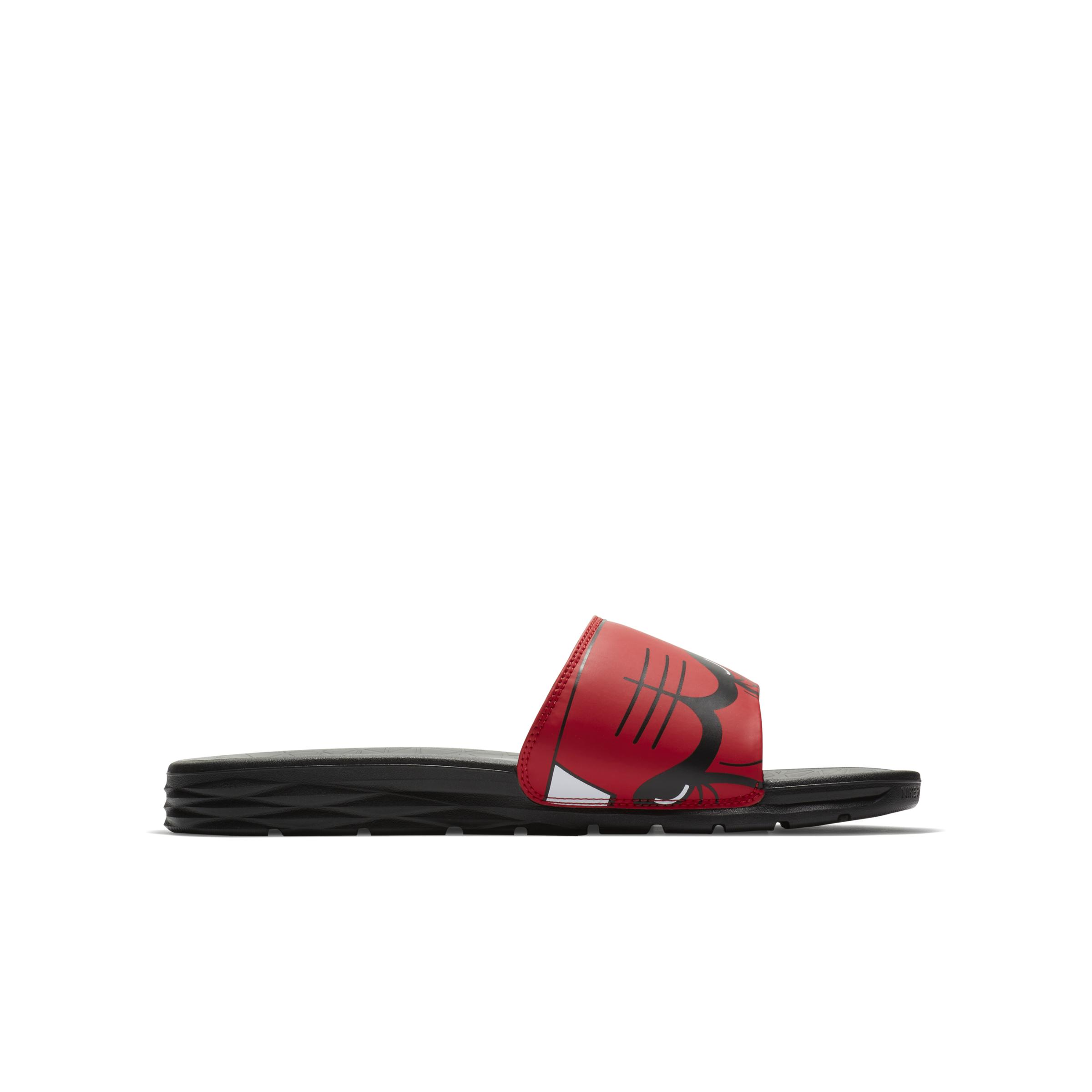 8eb8c6f4f49a1 Nike - Red Benassi NBA Chanclas for Men - Lyst. Ver en pantalla completa
