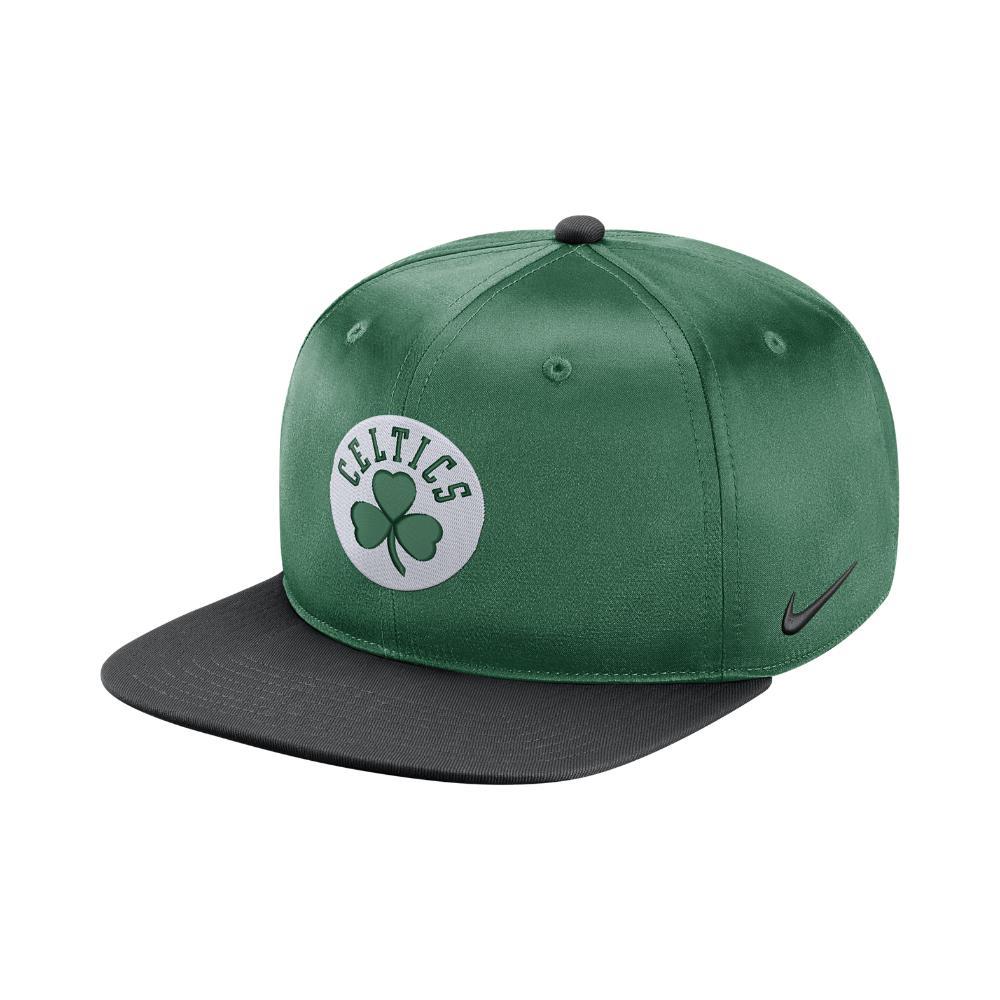 8e275b879fd5d ... sb icon snapback white white black black caps c38bf 893f0 clearance  lyst nike boston celtics pro adjustable nba hat green in green b906e a51b8  ...