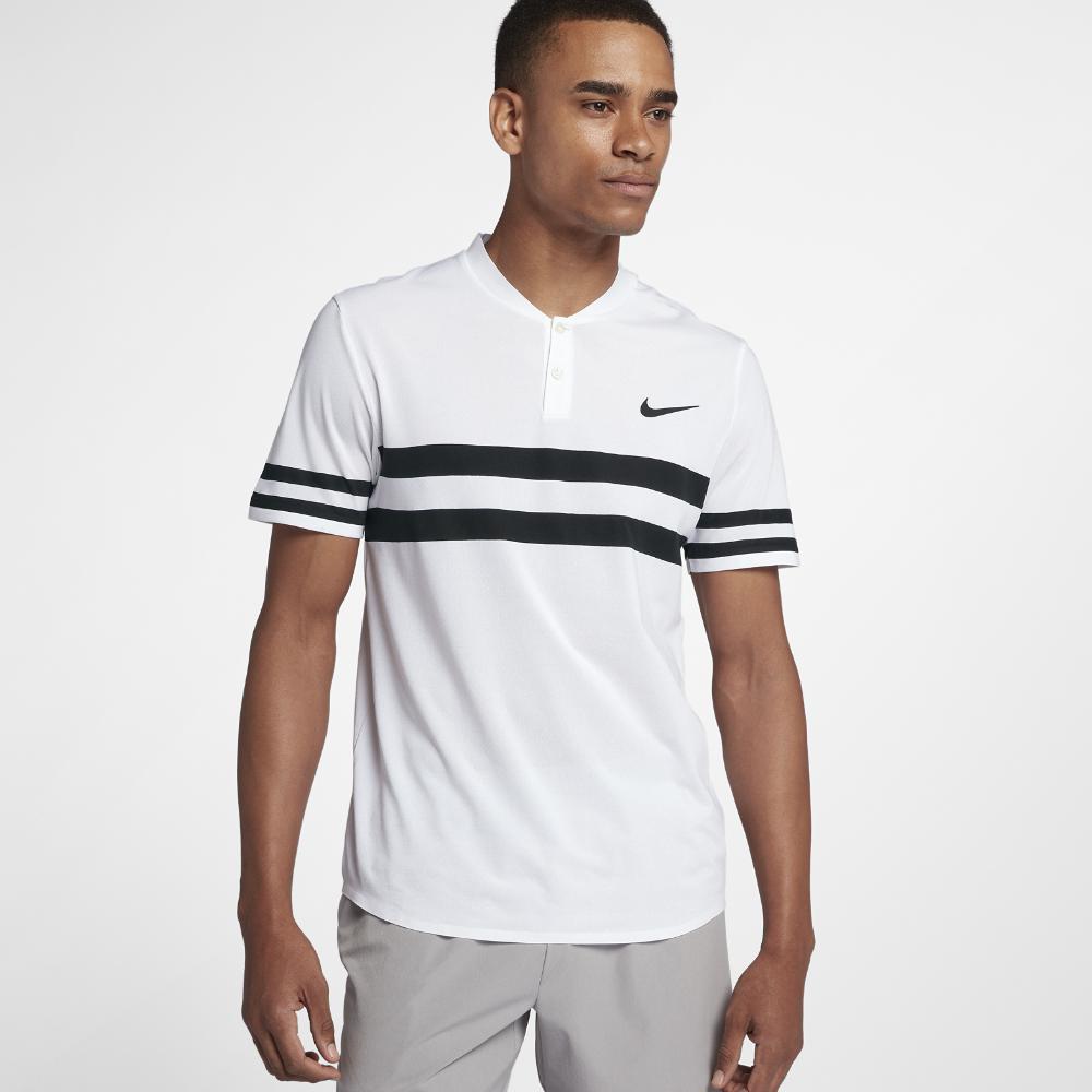 4cfb9ad4d Nike Court Dri-fit Advantage Men s Tennis Polo Shirt in White for ...
