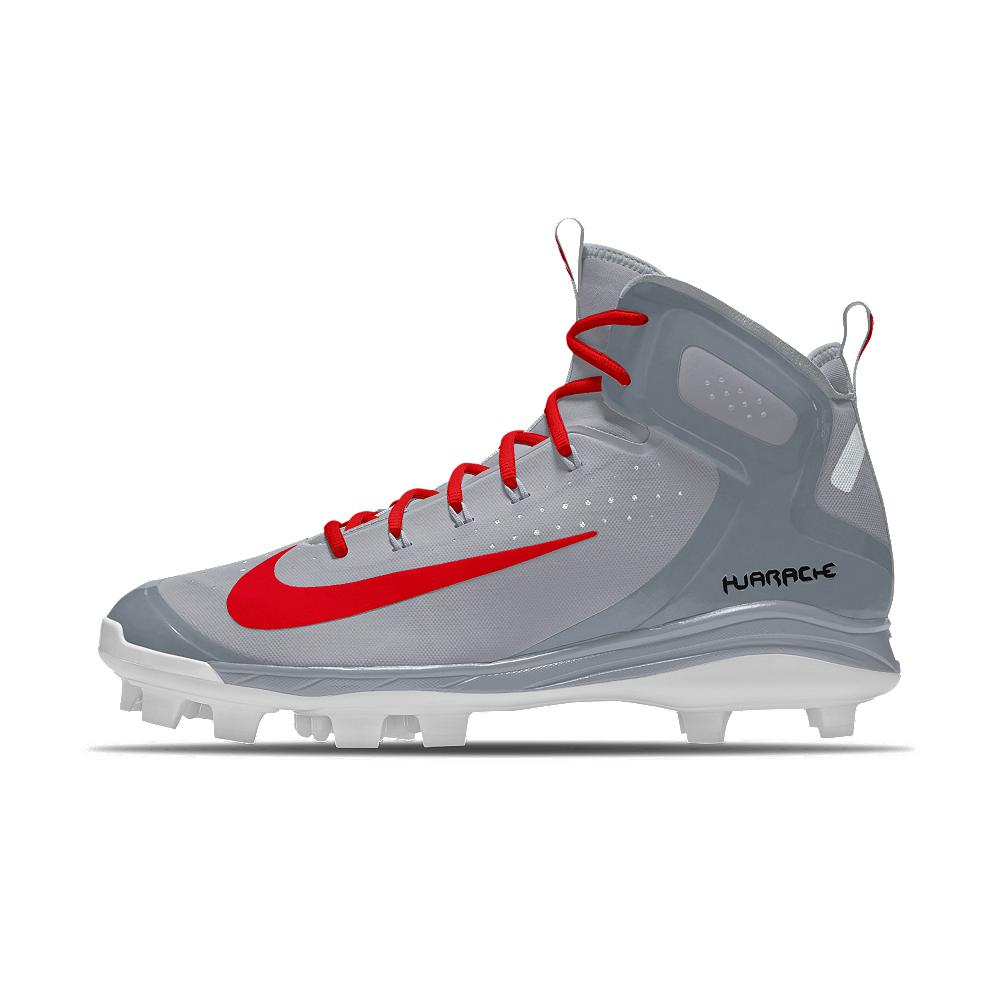 7317bd845267 Lyst - Nike Alpha Huarache Elite Mid Mcs Id Men s Baseball Cleats ...