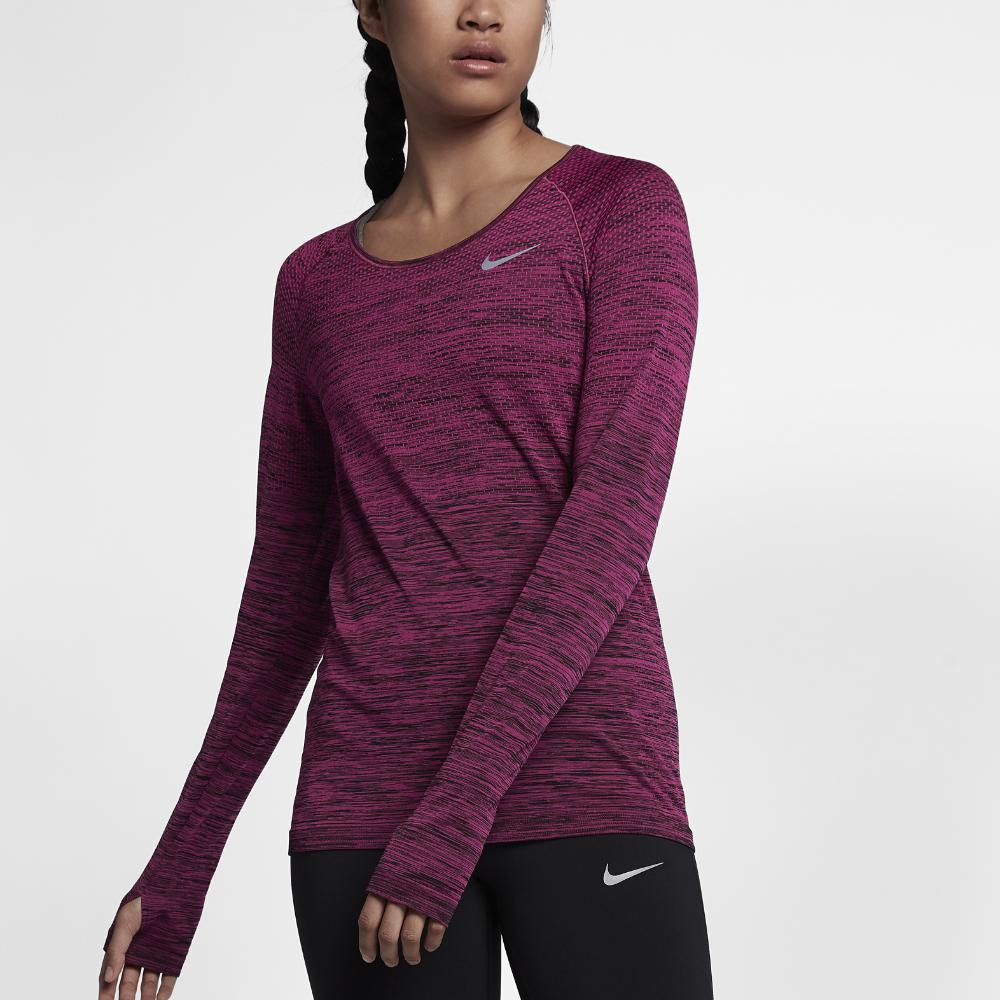 Nike Dri Fit Long Sleeve Running Top Women S Clearance Shop We offer a wide variety of university of michigan drifit products to meet the needs of any um fan. lamptime