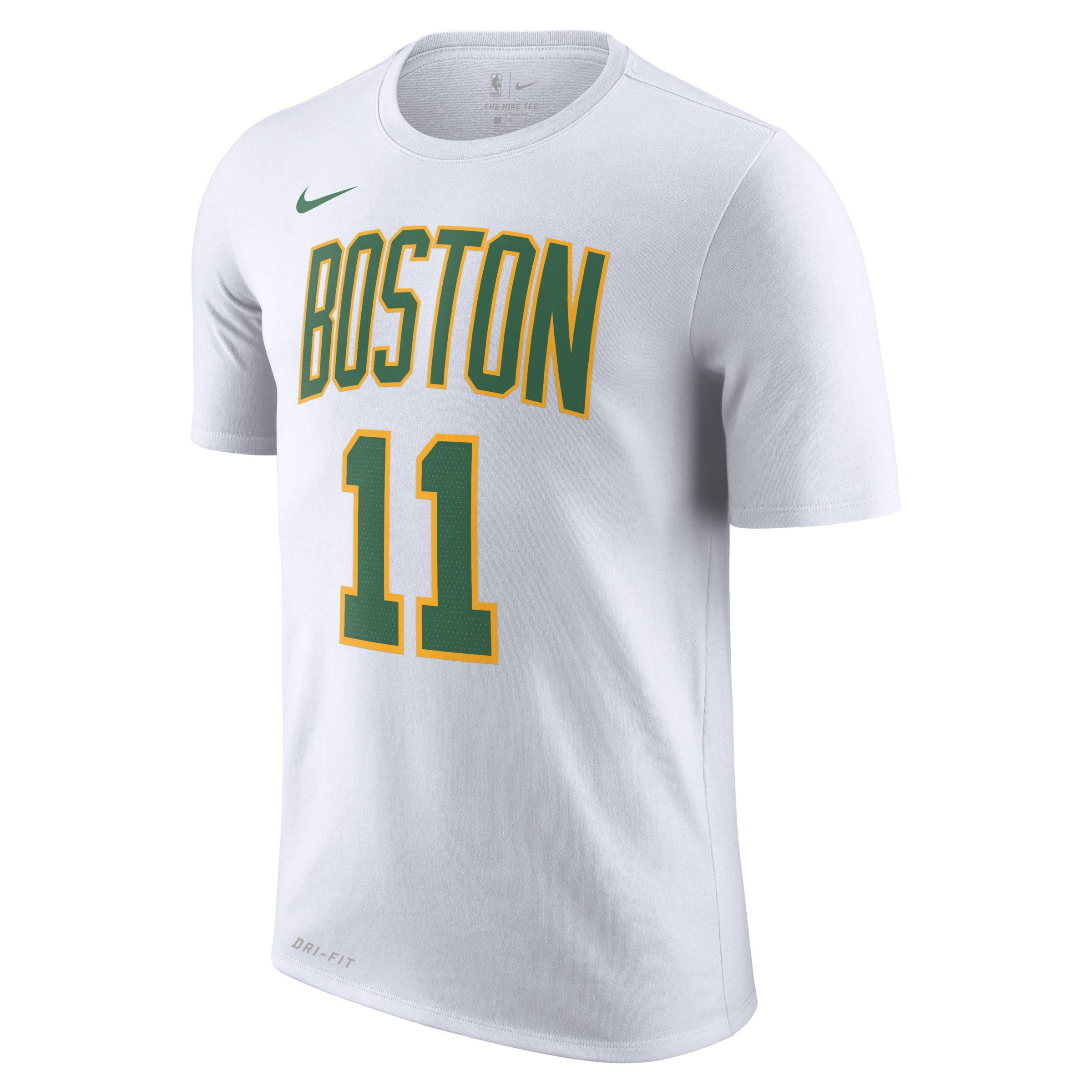 b62f5d621 Nike Kyrie Irving Boston Celtics City Player T-shirt 2018 in White ...