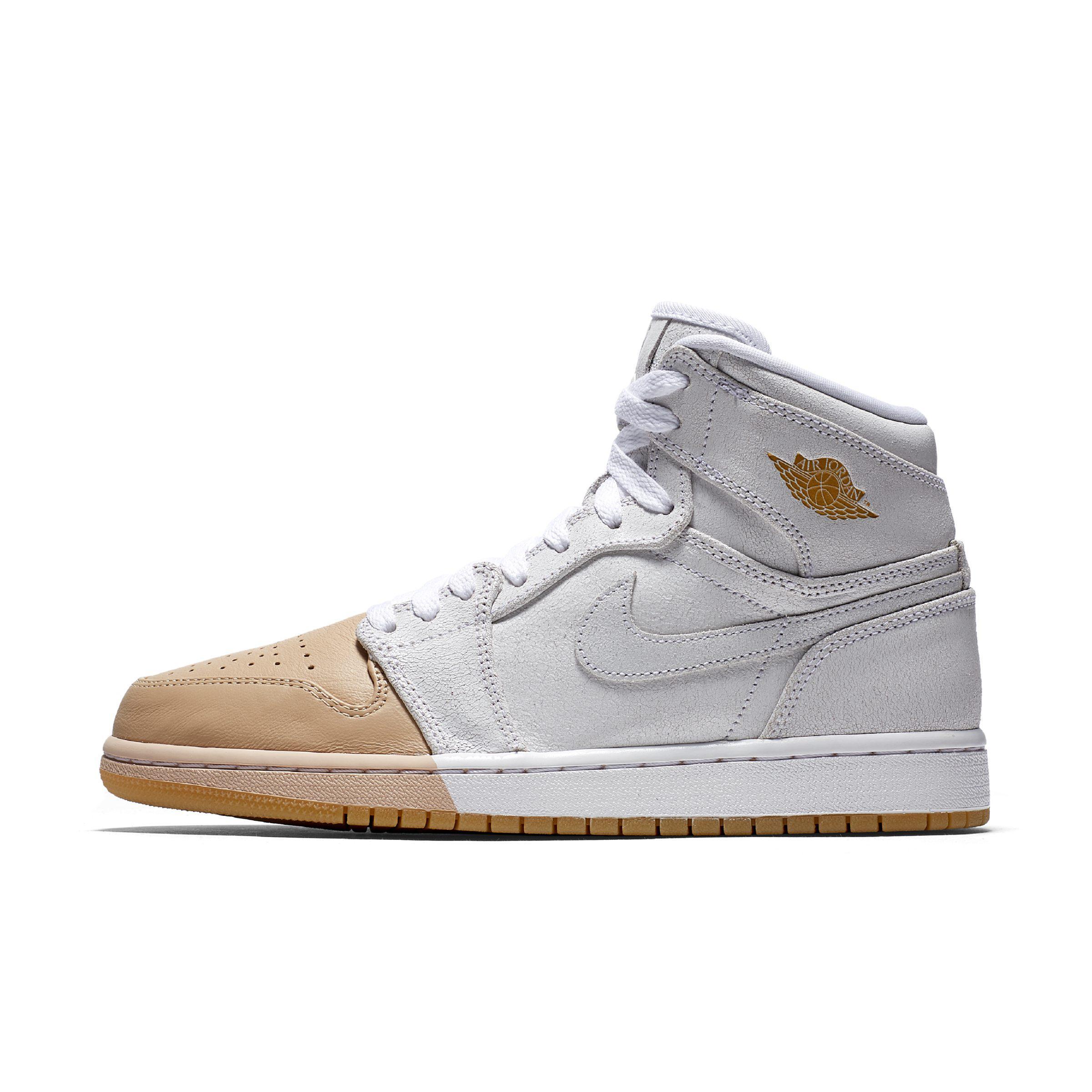 Nike Air Jordan 1 Retro High Premium Shoe in White - Lyst b9918c0aa6