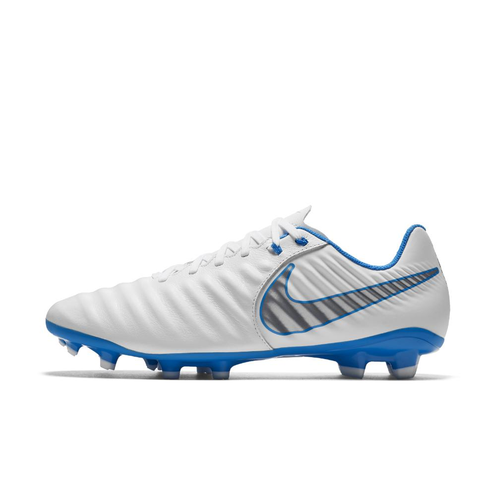 bb5583e90 Nike. Men s Blue Tiempo Legend Vii Academy Just Do It Firm-ground Soccer  Cleats