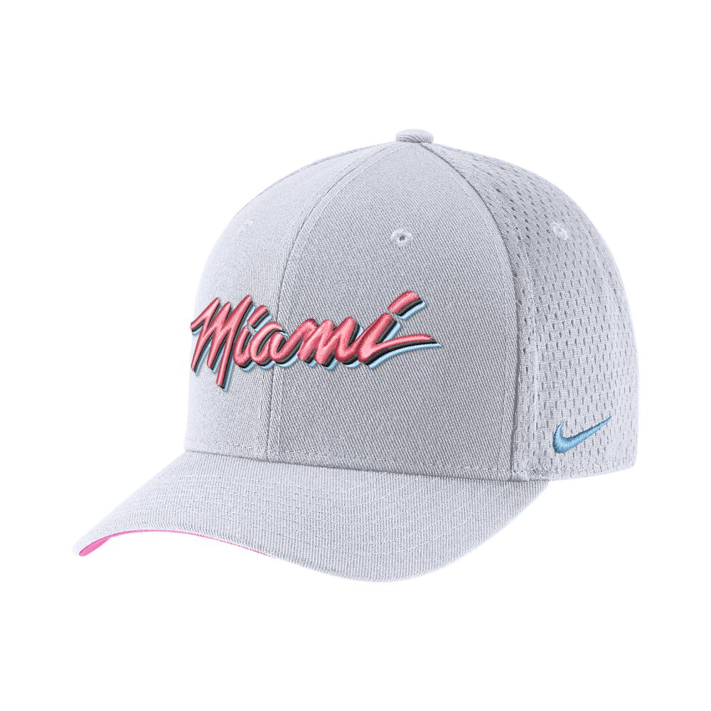 huge discount 4f5aa 65b10 Men's Miami Heat City Edition Classic99 Nba Hat (white) - Clearance Sale