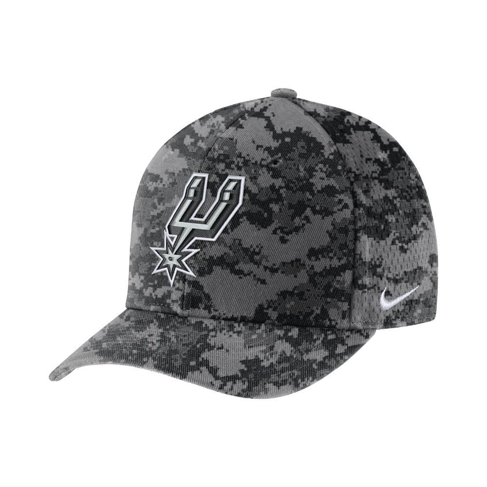 Lyst - Nike San Antonio Spurs City Edition Classic99 Nba Hat (grey ... a52827aabf2f