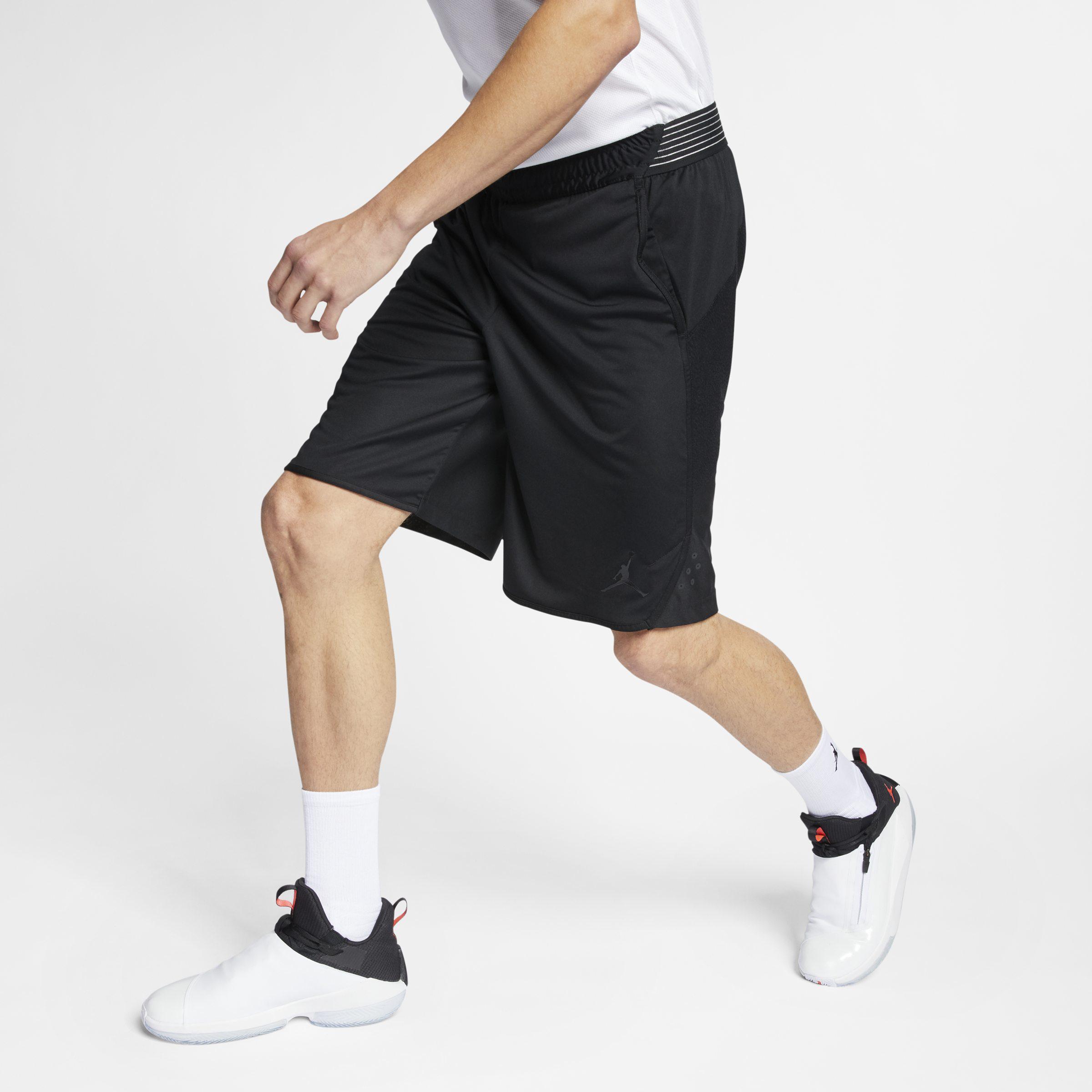 dcca55f376ff1 Nike Black Jordan Ultimate Flight Practice Basketball Shorts for men