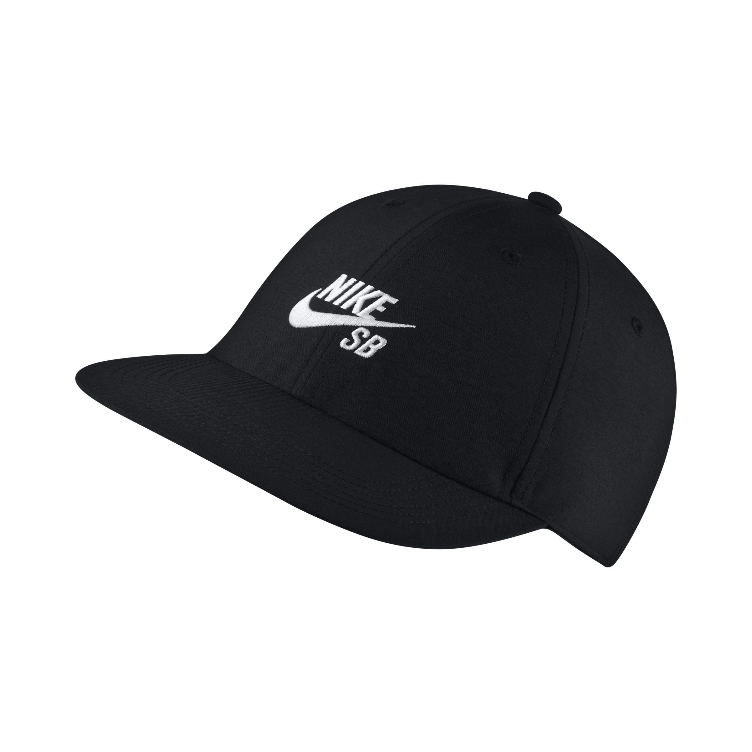 0b344f896c6 Nike Sb Heritage86 Skateboarding Hat in Black - Lyst
