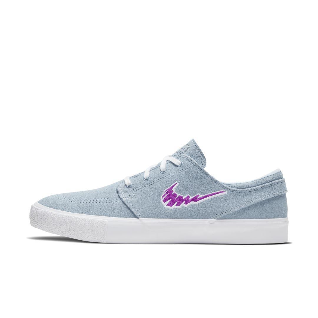 Nike Suede Sb Zoom Stefan Janoski Rm Skate Shoe in Blue for Men - Lyst