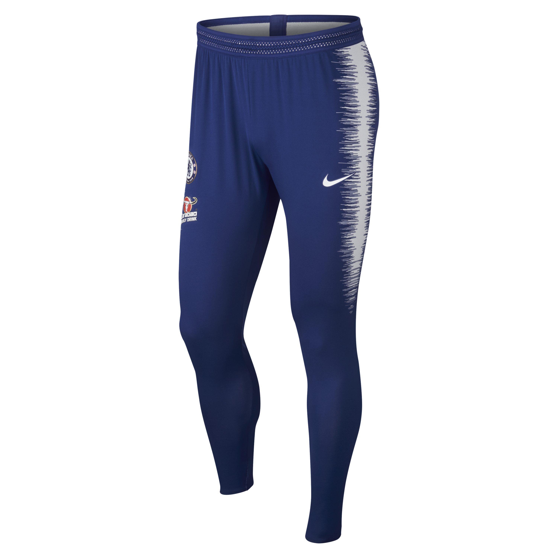 e318e1dc3 ... Blue Chelsea Fc Vaporknit Strike Football Pants for Men - Lyst. Visit  Nike. Tap to visit site