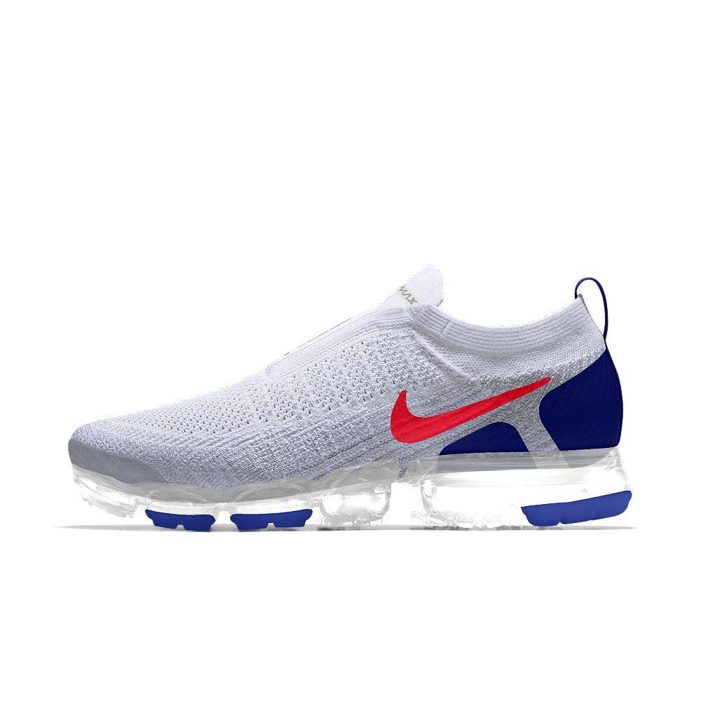 e696b73c90 Nike Blue Air Vapormax Flyknit Moc 2 Id Men's Running Shoe for men